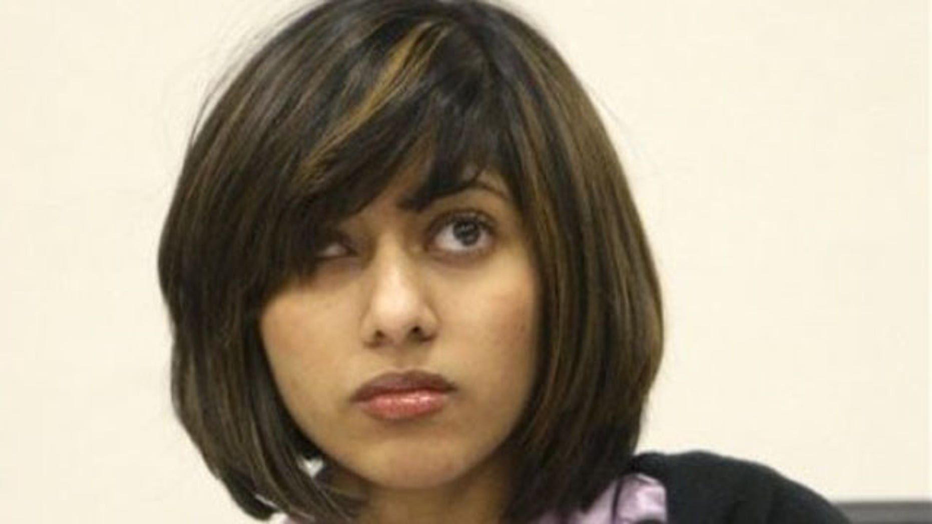 In this March 2, 2010 file photo, Rifqa Bary listens to the judge during a hearing to settle disputes between Bary and her parents in Columbus, Ohio (AP).