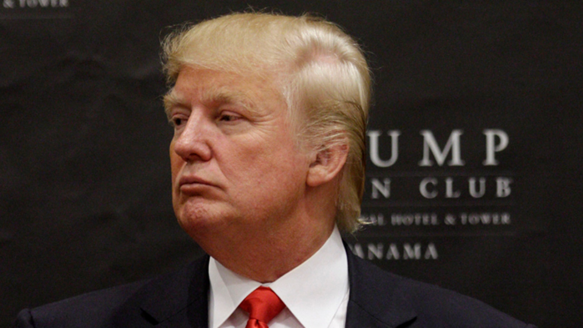 U.S. tycoon Donald Trump attends the inauguration ceremony of the Trump Ocean Club International Hotel and Tower in Panama City. (AP Photo/Arnulfo Franco, File)