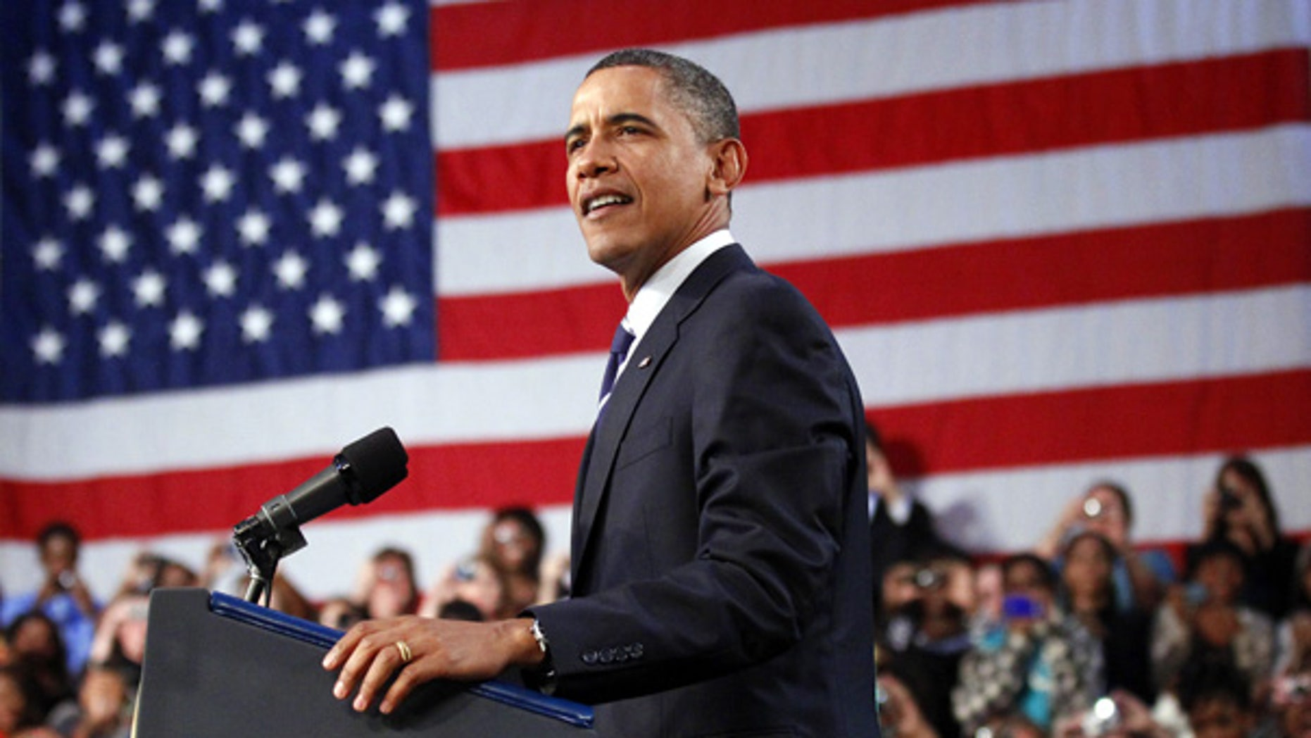 Sept. 8: President Barack Obama delivers remarks on the economy at Cuyahoga Community College in Parma, Ohio.
