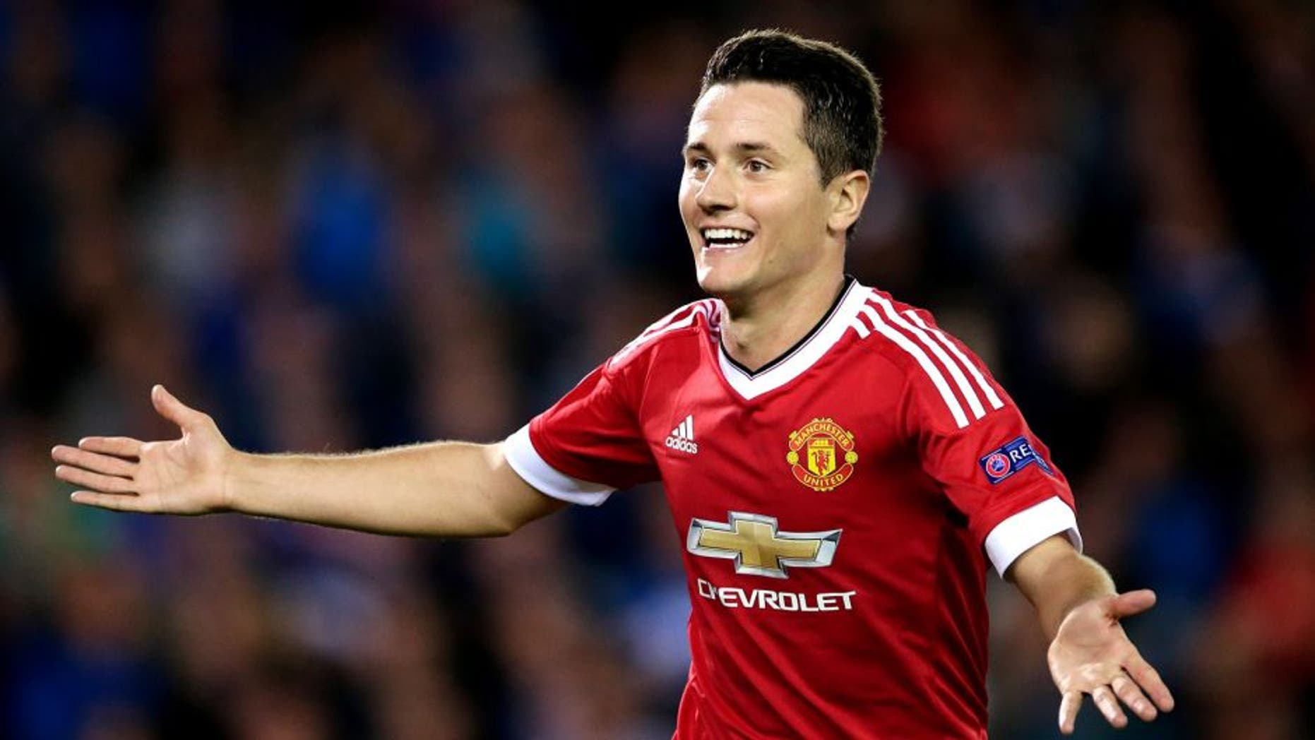 Ander Herrera of Manchester United during the UEFA Champions League play-offs match between Club Brugge and Manchester United on August 26, 2015 at the Jan Breydel stadium in Brugge, Belgium.(Photo by VI Images via Getty Images)