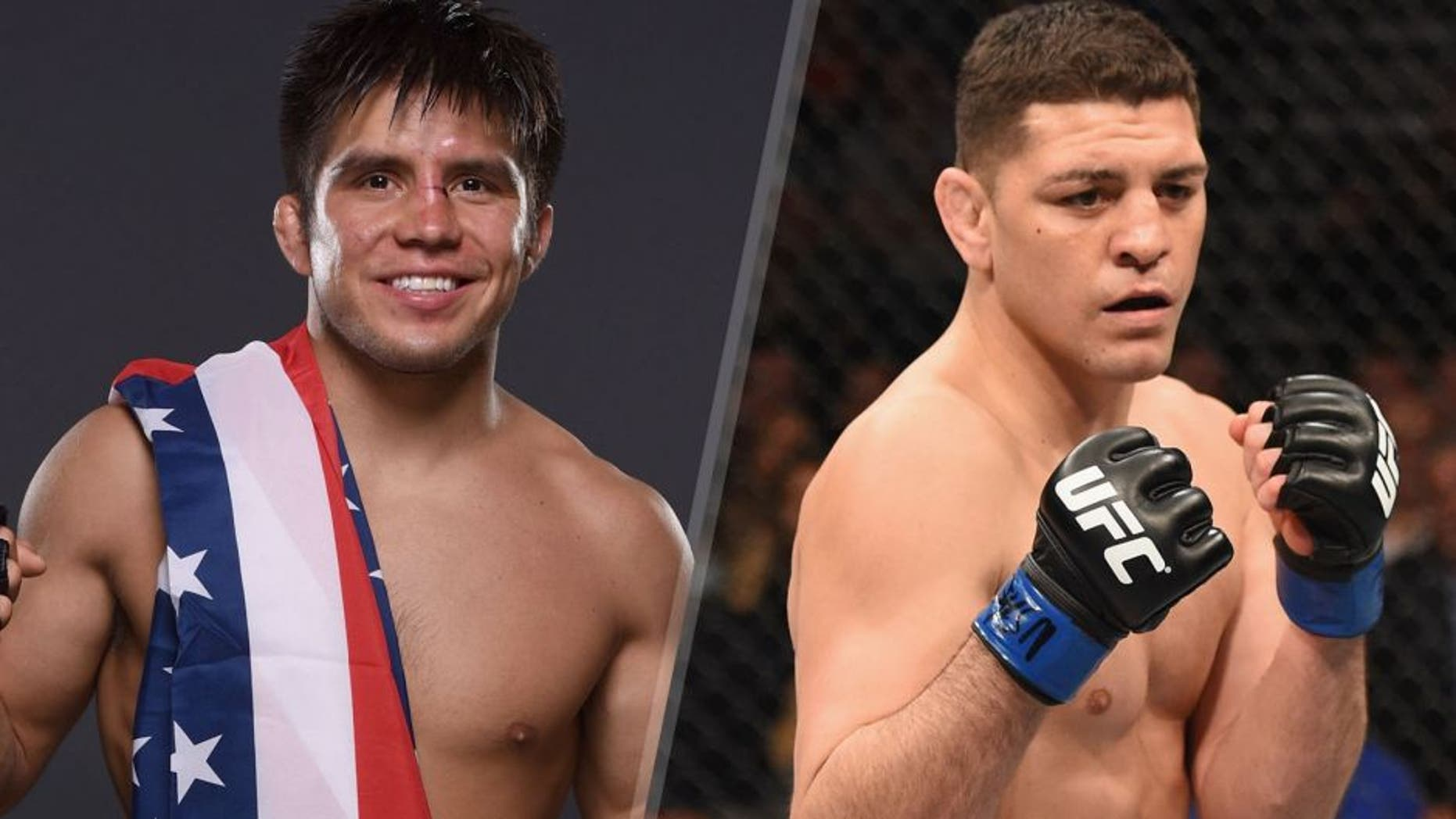 MEXICO CITY, MEXICO - JUNE 13: Henry Cejudo poses for a post fight portrait backstage during the UFC 188 event at the Arena Ciudad de Mexico on June 13, 2015 in Mexico City, Mexico. (Photo by Mike Roach/Zuffa LLC/Zuffa LLC via Getty Images)