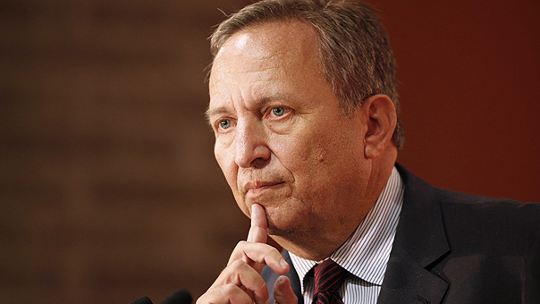 Lawrence Summers, seen here in New York, plans to leave the White House at the end of the year.