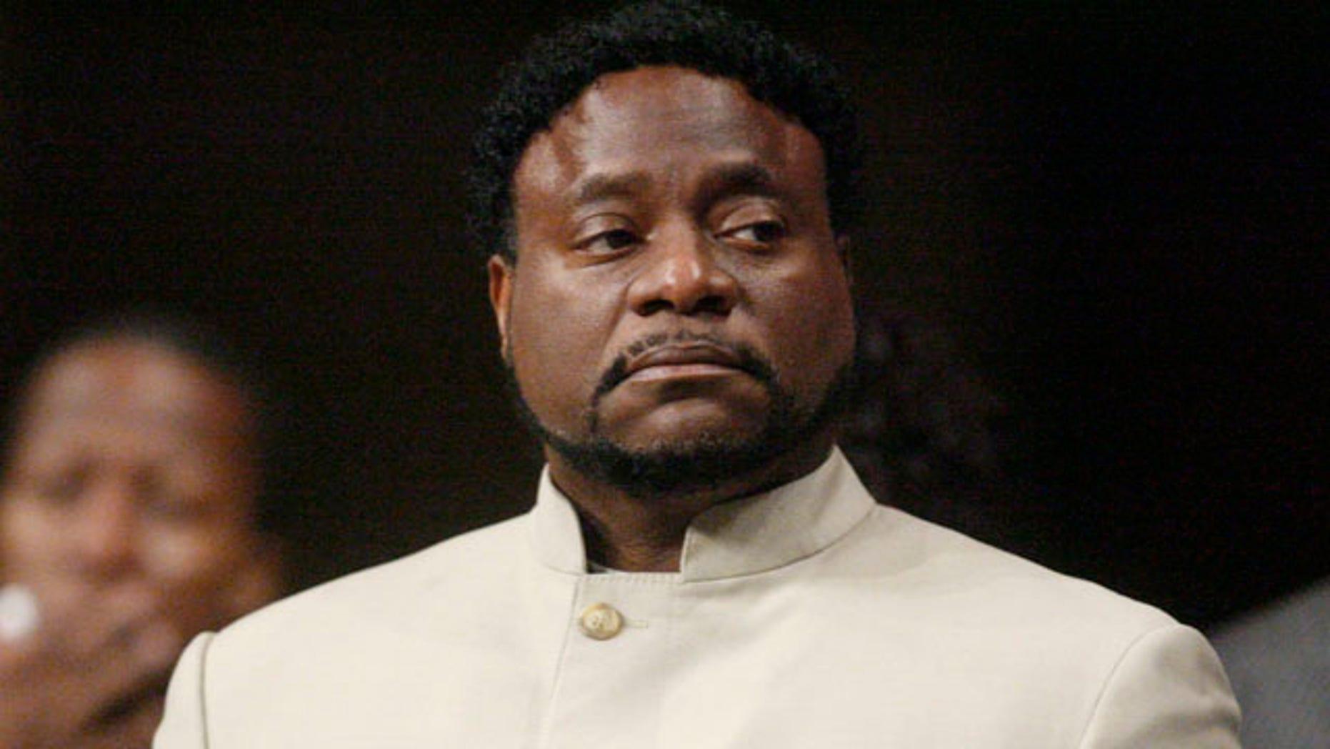 Bishop Eddie Long in 2010.