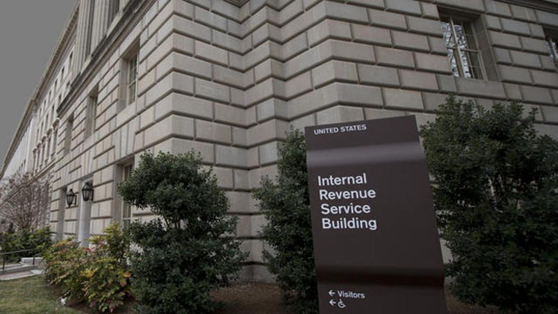 Shown here is the IRS headquarters in Washington, D.C.