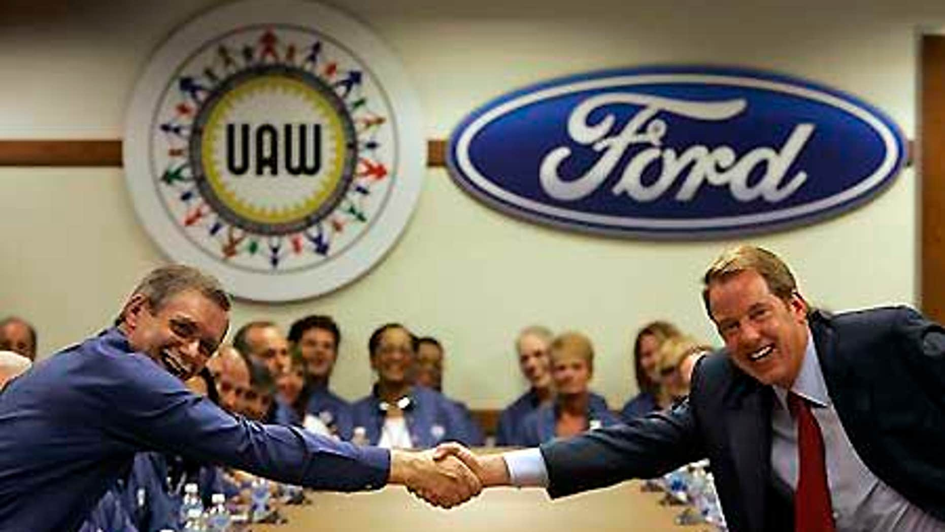 Ford Motor Co., Executive Chairman Bill Ford, right, will see the salary reductions this year and next.