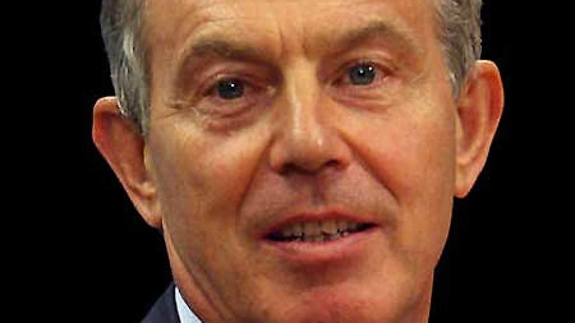 Sept. 22: Former British Prime Minister Tony Blair.