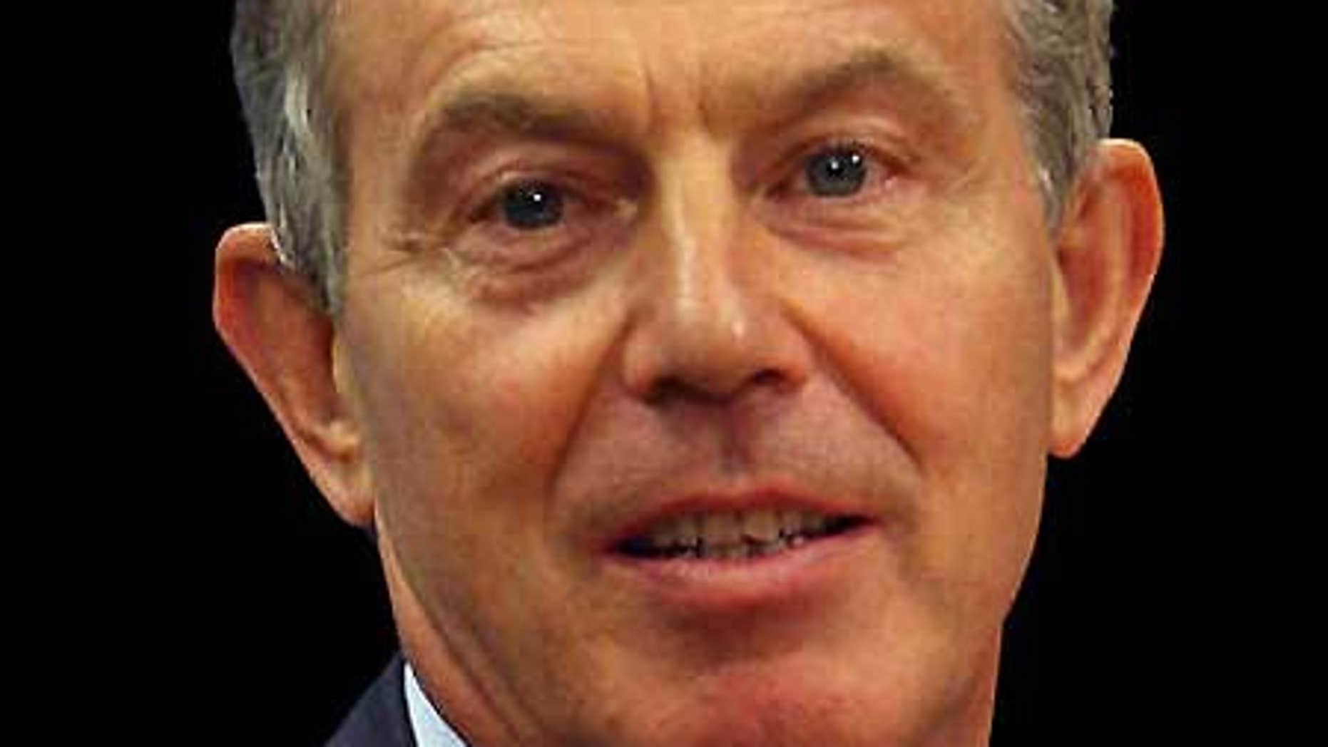 Sept. 22: Former British Prime Minister Tony Blair.