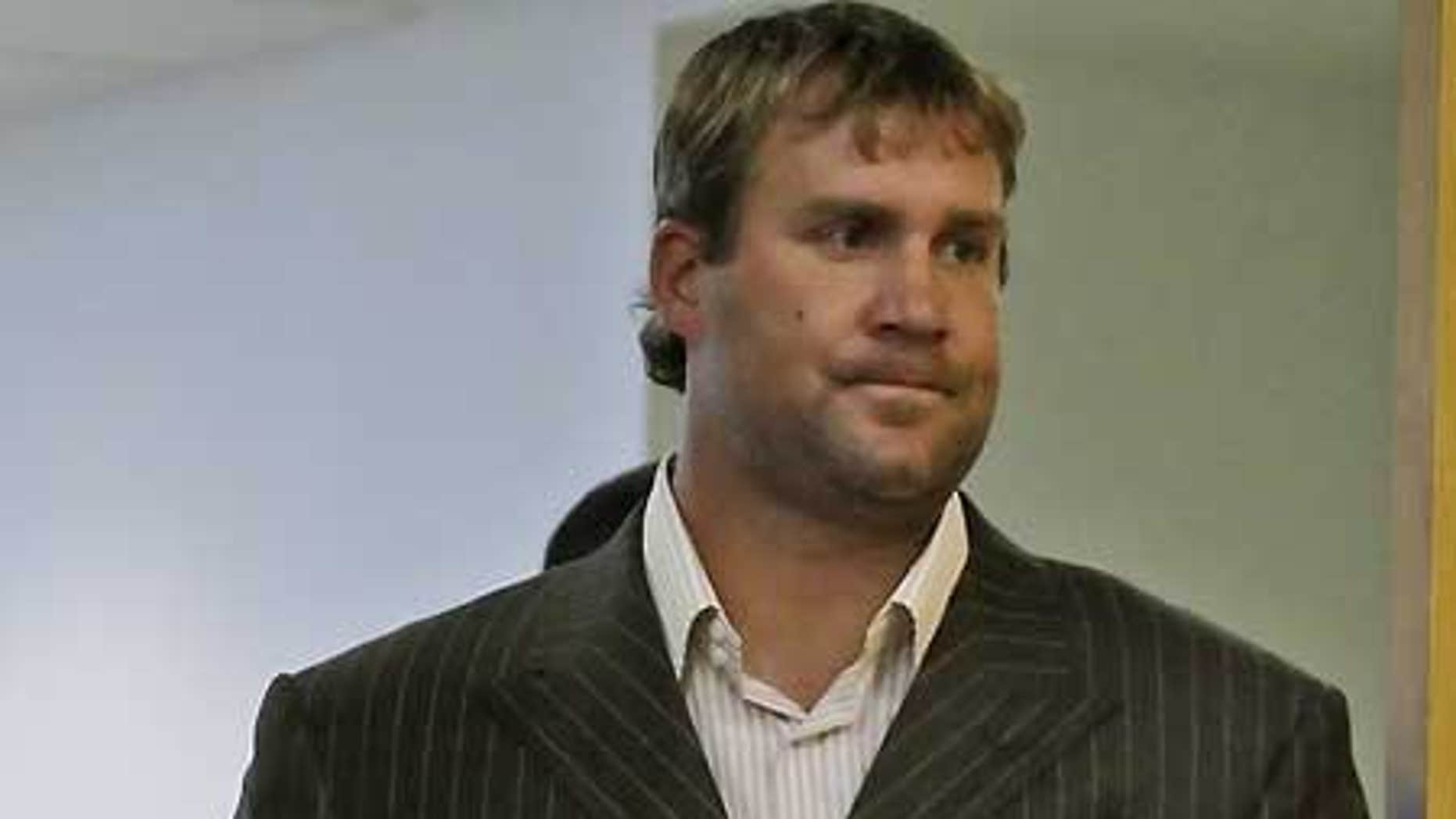 July 23: Pittsburgh Steelers quarterback Ben Roethlisberger arrives to make a statement in Pittsburgh.