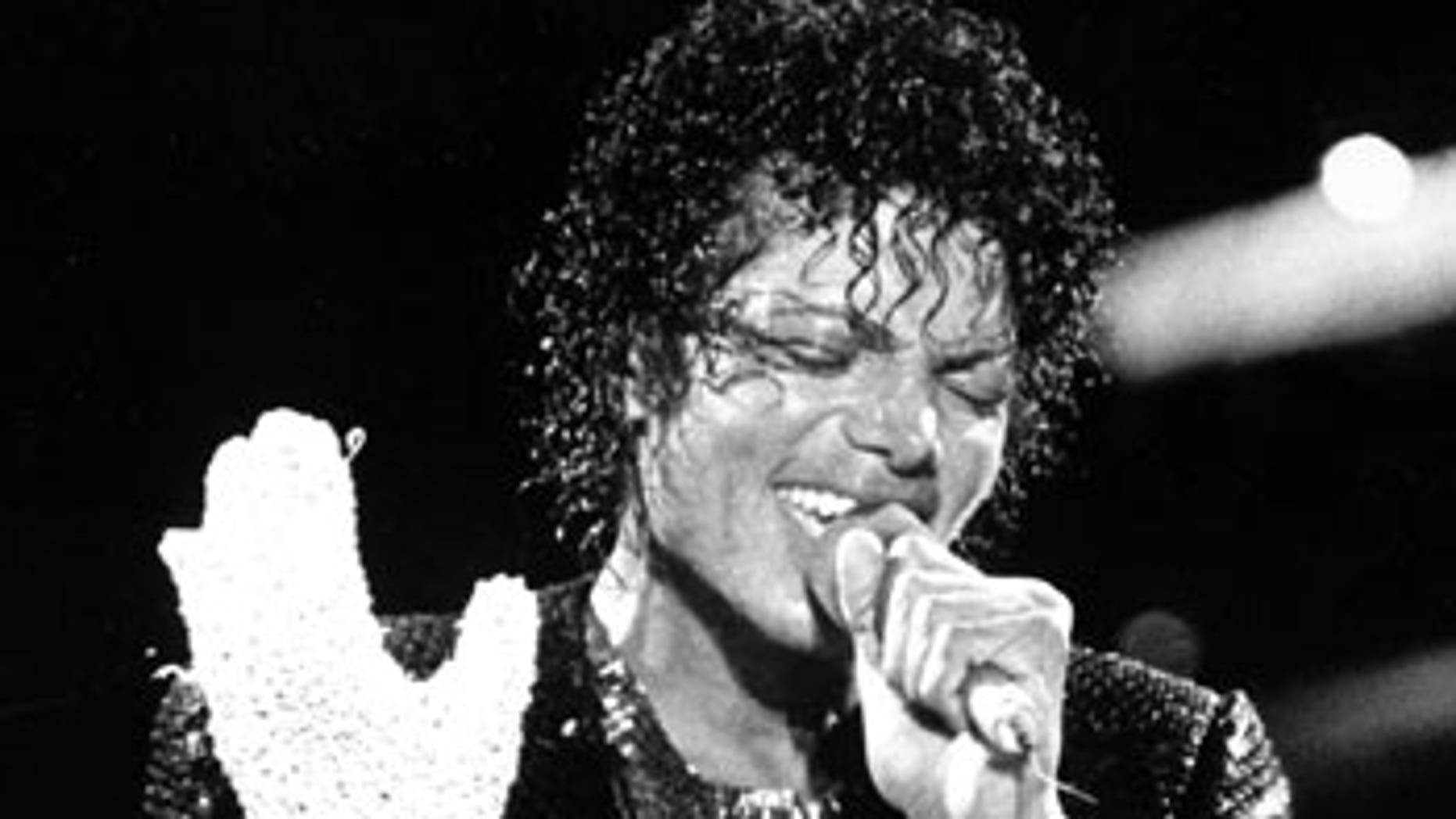 Michael Jackson, the consumate performer.