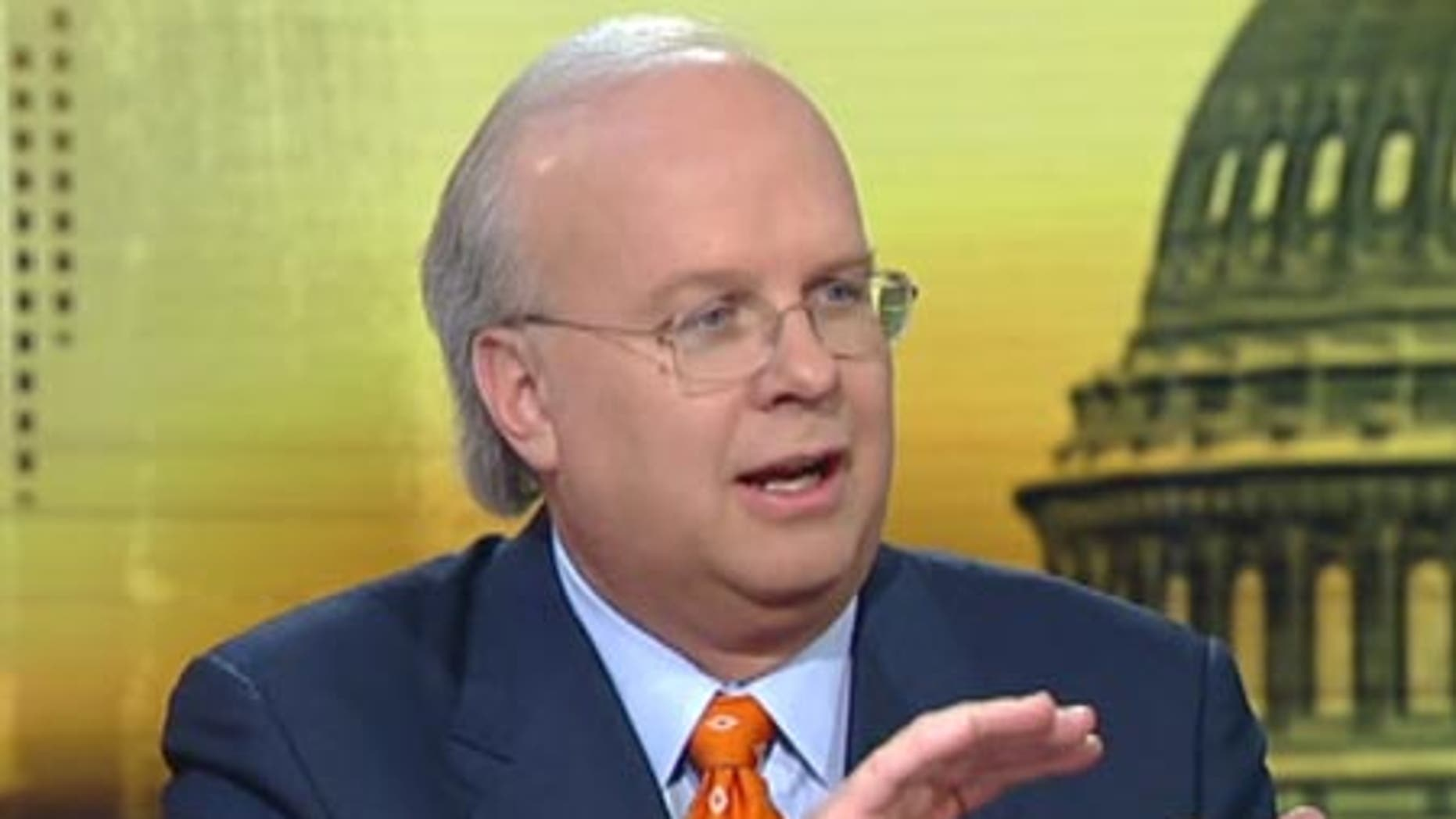 Former Bush adviser and Fox News contributor Karl Rove