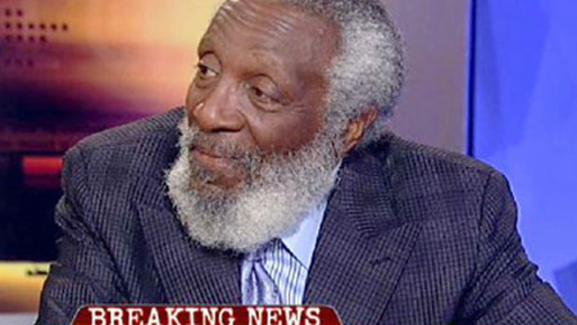 Dick Gregory believes Michael Jackson's sexual molestation trial took a lot out of him.