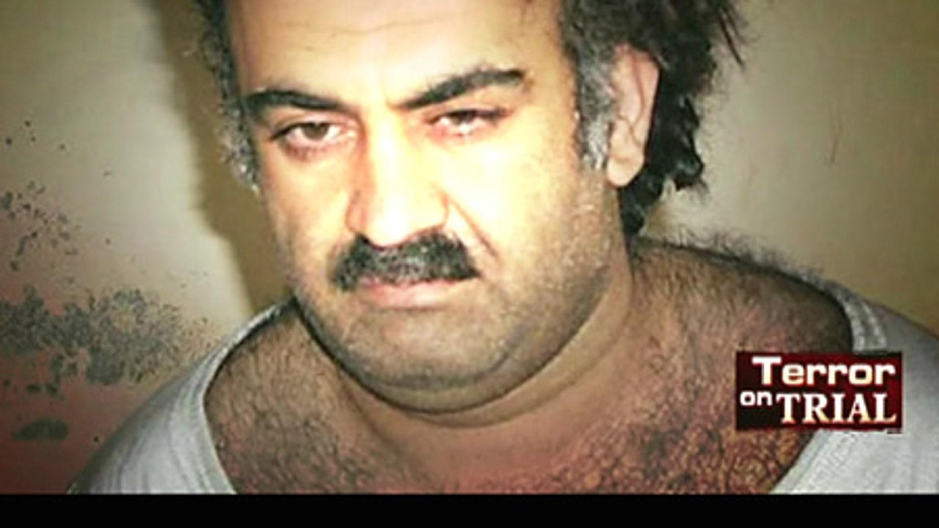 Self-proclaimed 9/11 mastermind Khalid Sheikh Mohammed