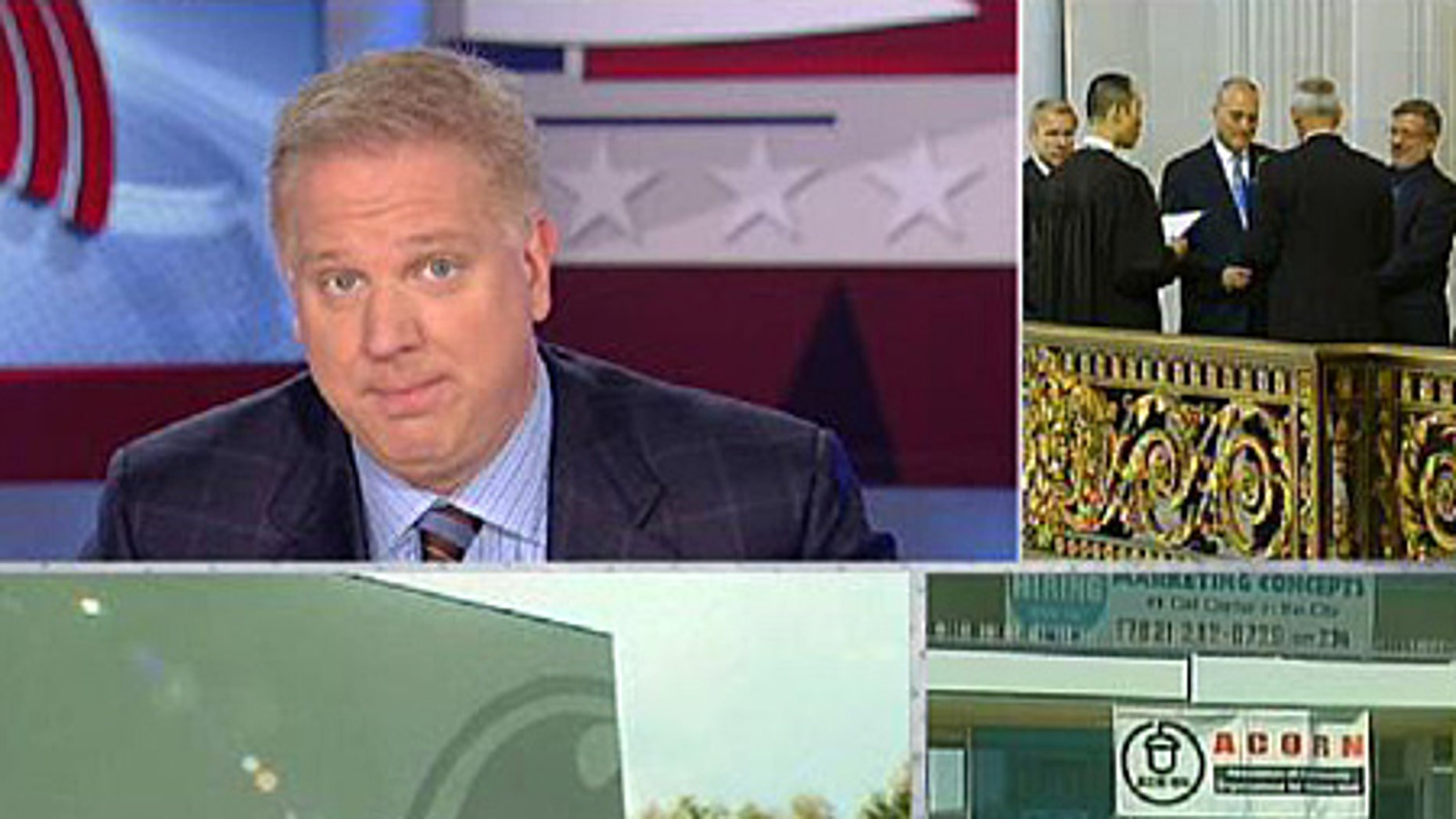 From ACORN to nationalization to defining marriage, Beck ties Tuesday's show together