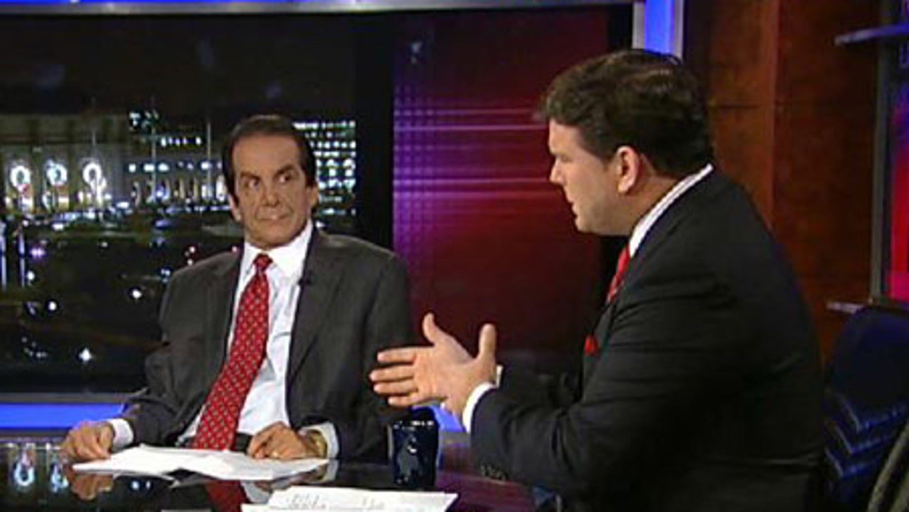 Charles Krauthammer with host Bret Baier
