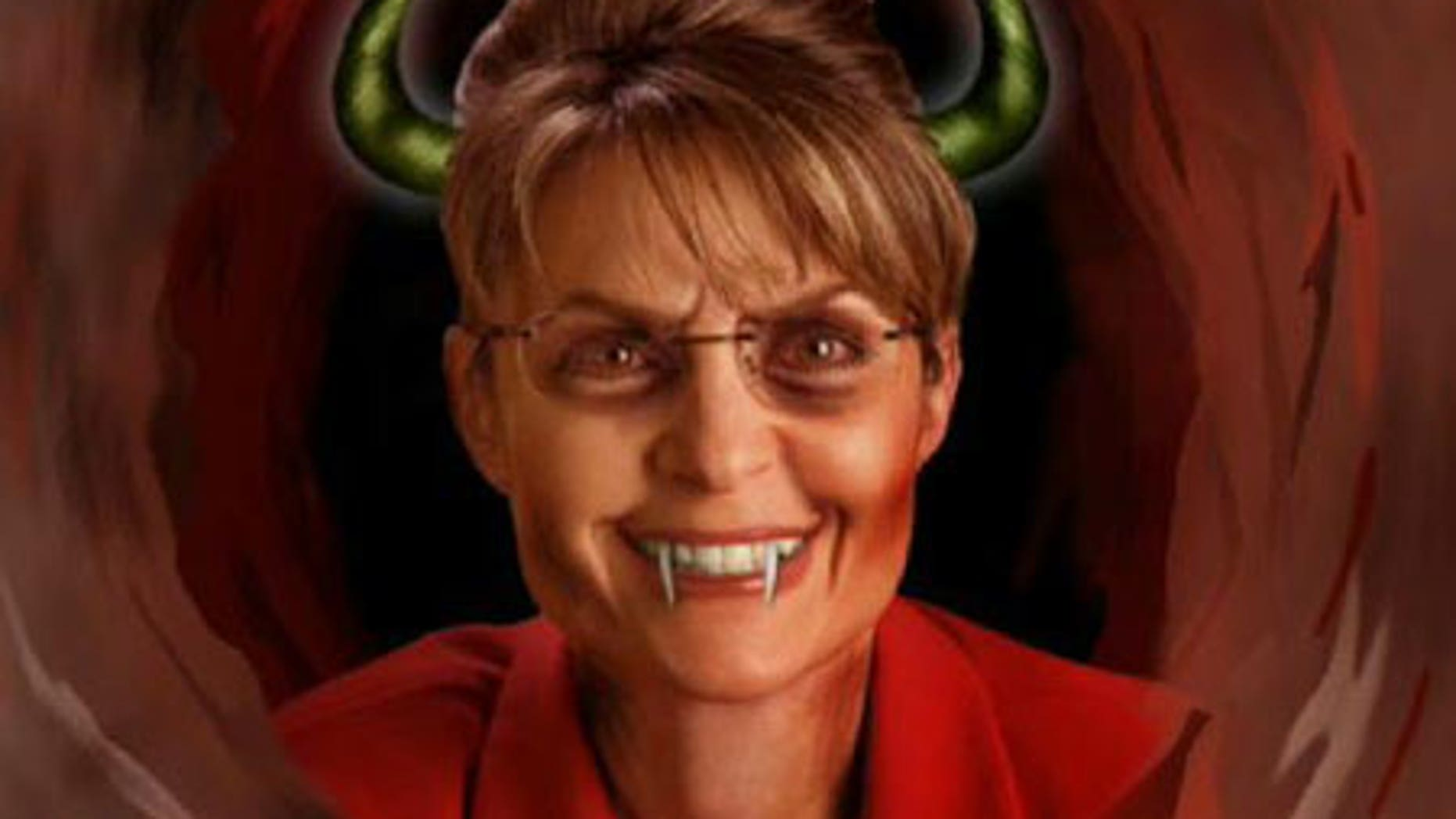 This just in from the future: The mainstream media reveal that Sarah Palin is, in fact, the devil