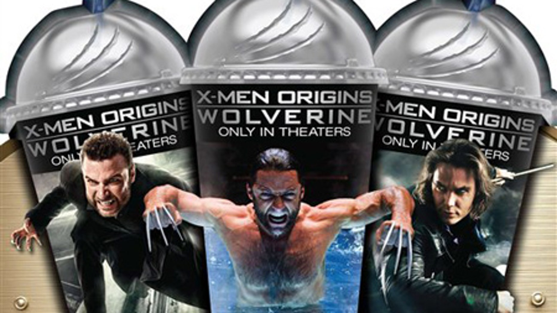 March 31: 7-Eleven created three Slurpee cups as part of the retailer's April promotion of X-Men Origins: Wolverine.