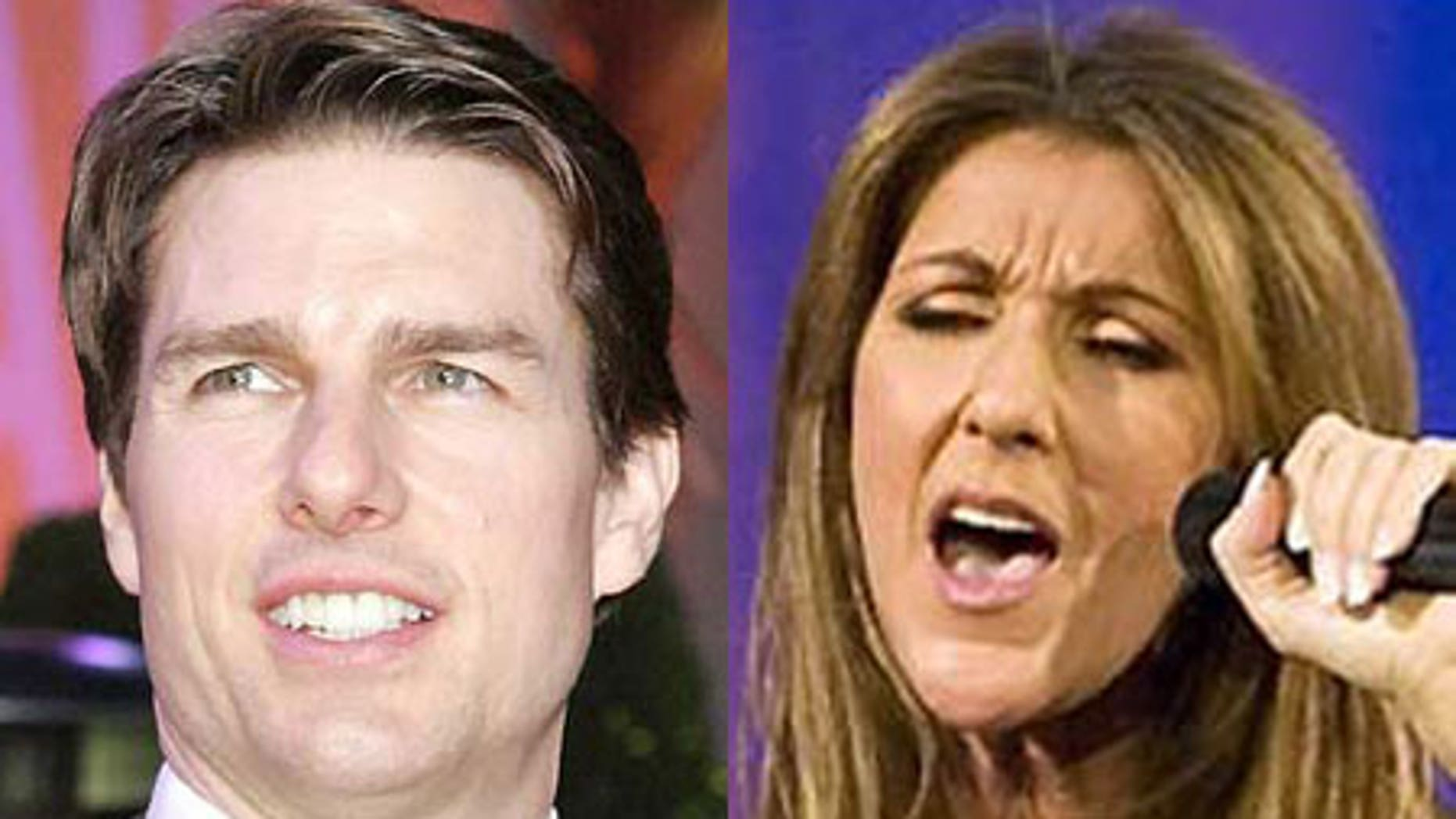 Both Tom Cruise and Celine Dion are two celebs whose carbon footprints are substantial.