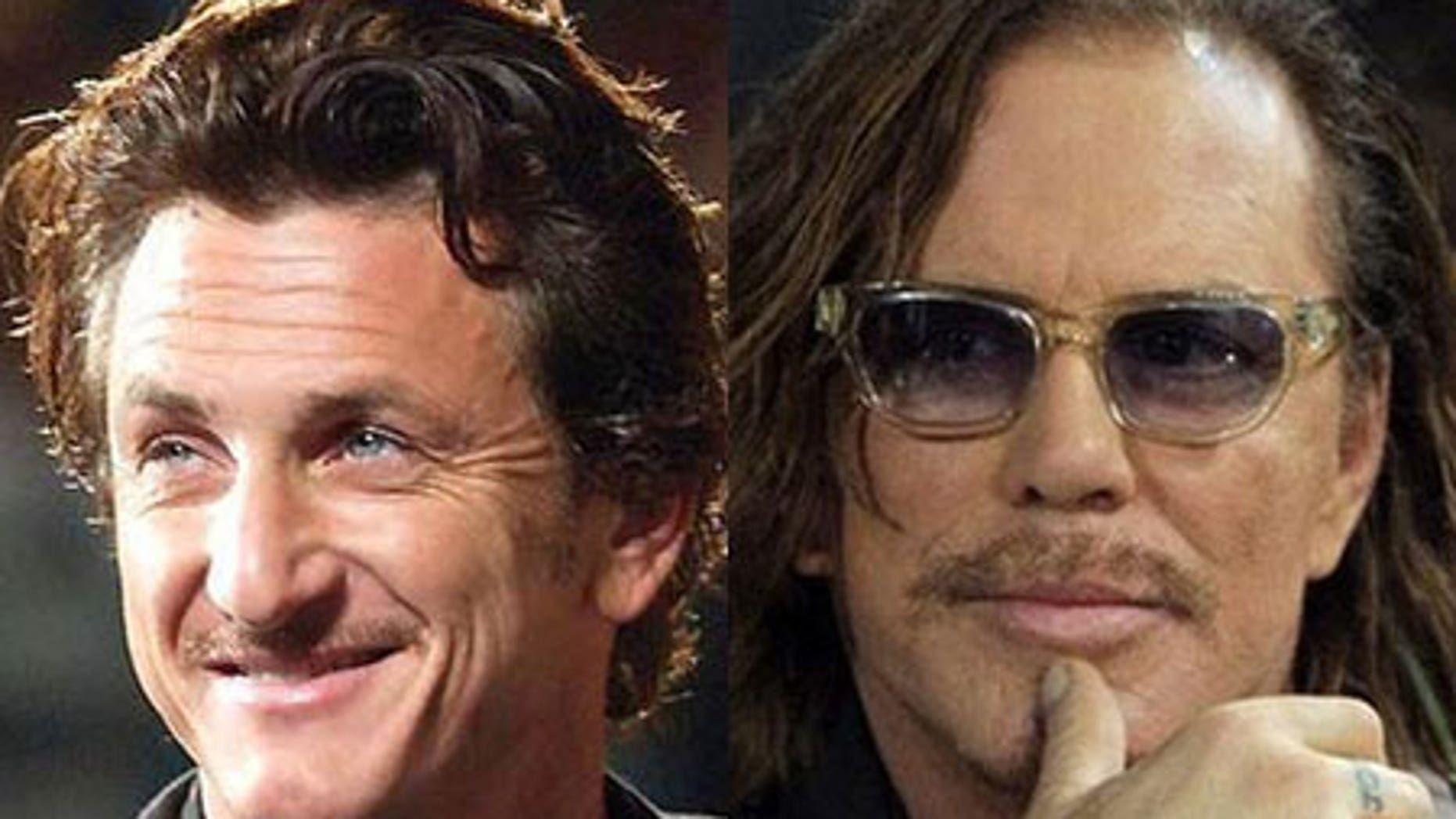 The competition is definitely between Sean Penn and Mickey Rourke, Dr. Oscar says.