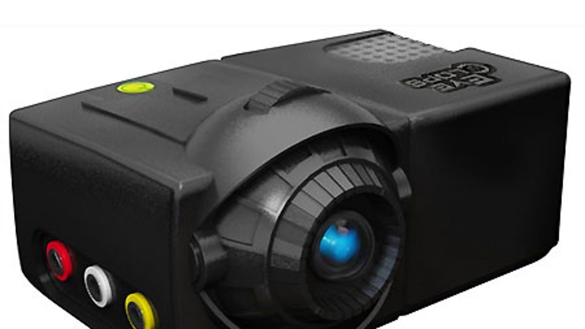 JAKKS Pacific's EyeClops mini-projector.