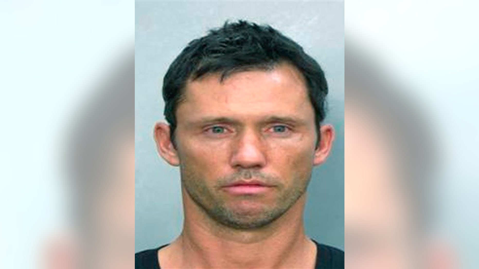In this image released by the Miami Beach Police Dept., actor Jeffrey Donovan is seen in this booking photograph released by the Miami Beach, Fla. Police Dept. Donovan was charged with DUI on Sunday July 12, 2009. (AP Photo/Miami Beach Police Dept)