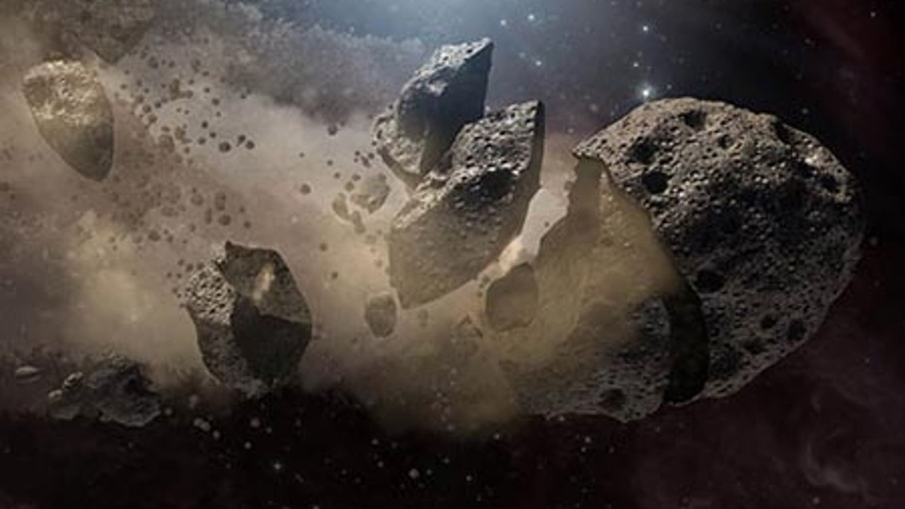 NASA's Spitzer Space Telescope set its infrared eyes upon the dusty remains of shredded asteroids around several dead stars.