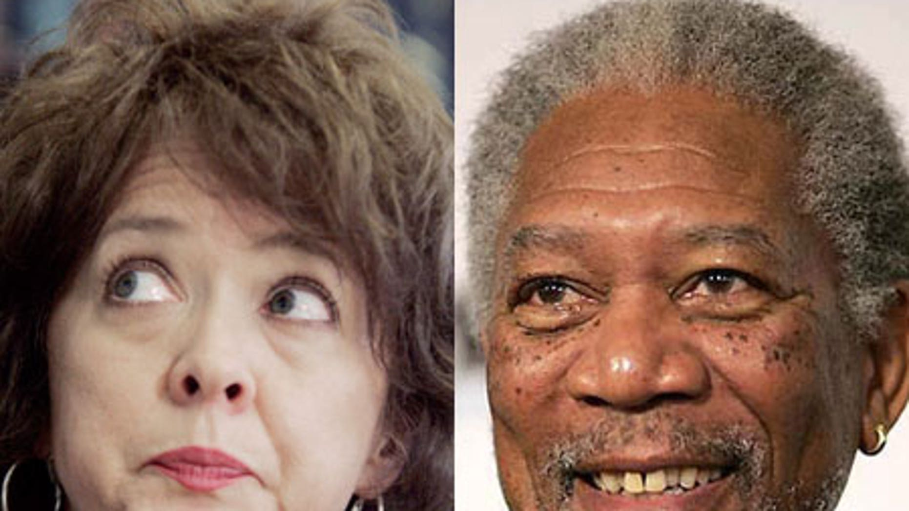 Demaris Meyer (right) is suing actor Morgan Freeman for negligence stemming from an accident last summer.