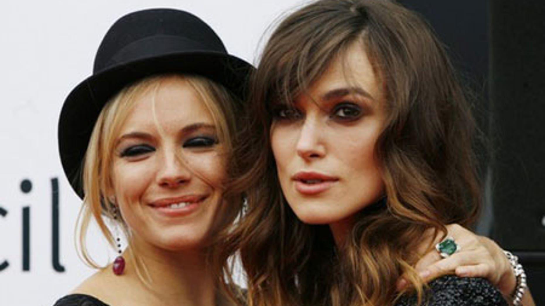 Sienna Miller and Keira Knightley share their bathtime secrets.