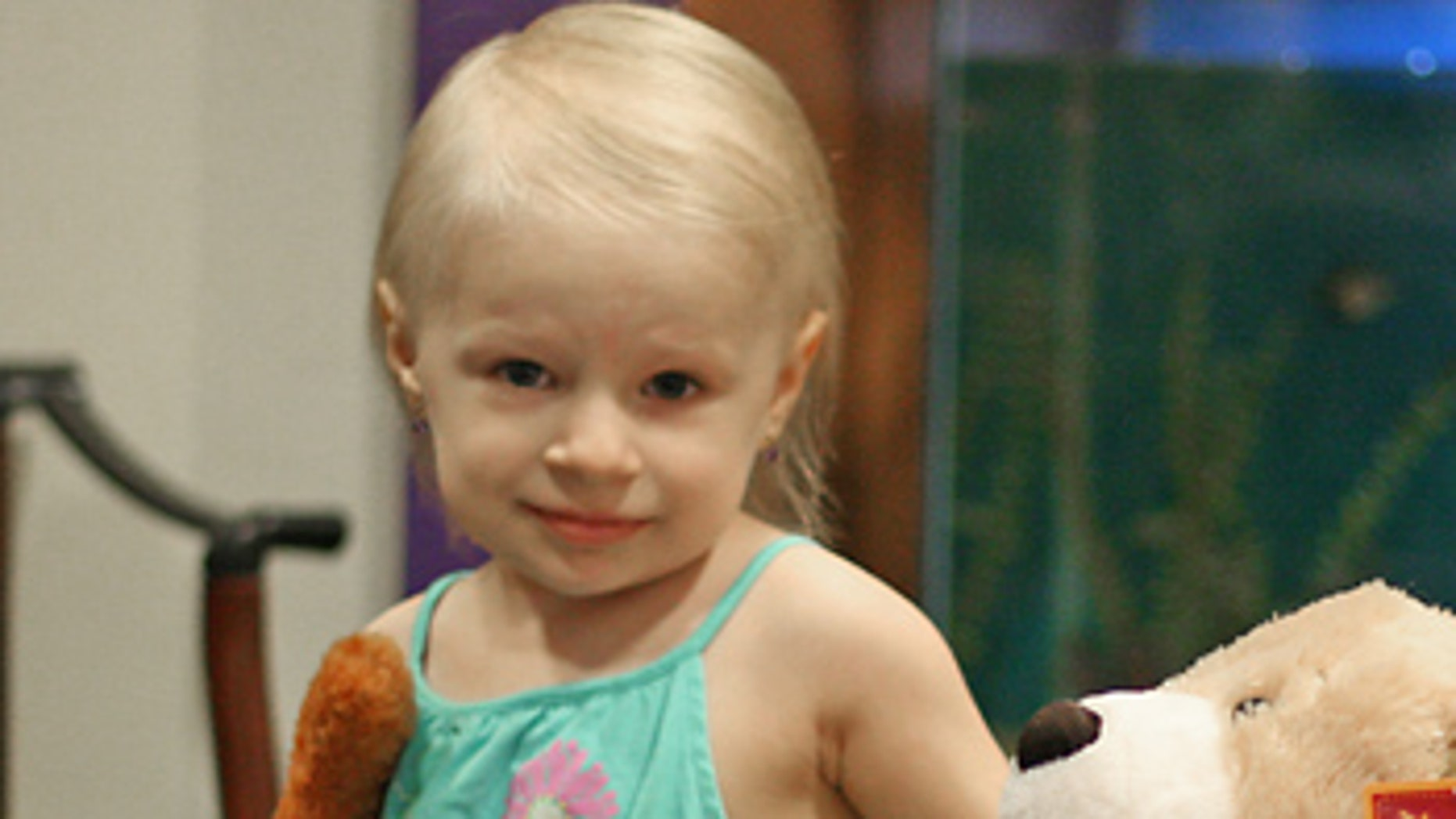 An MRI taken last month found no trace of the tumor once near the cerebellum of Madison Kegler, 3, of Washington, Mich.