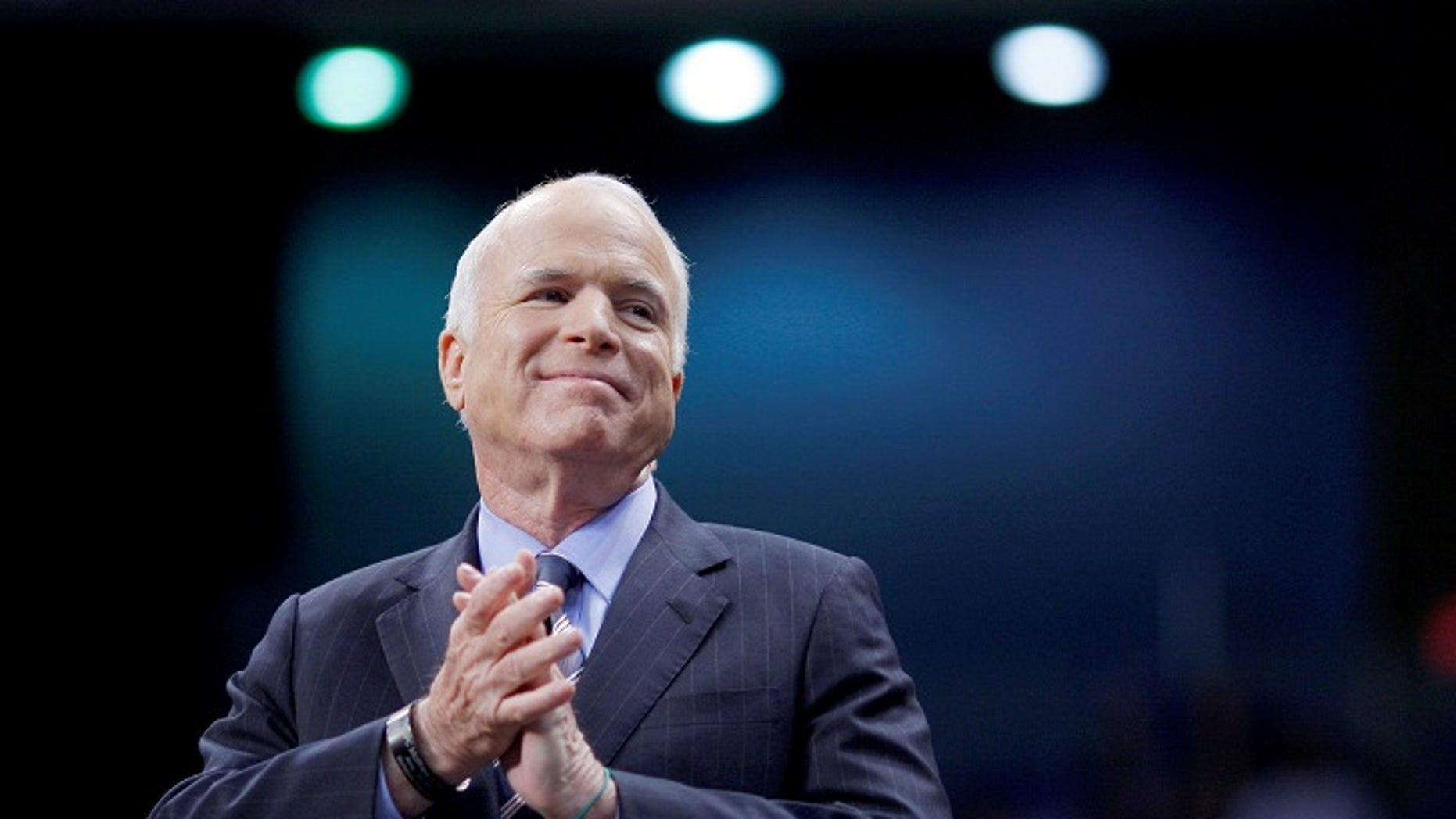 """Celebrities react to Sen. John McCain R-Ariz. voting """"no"""" Friday morning to the skinny repeal"""" amendment of Obamacare."""