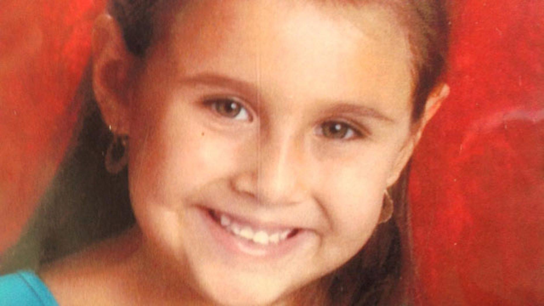 Missing six-year-old girl Isabel Celis.