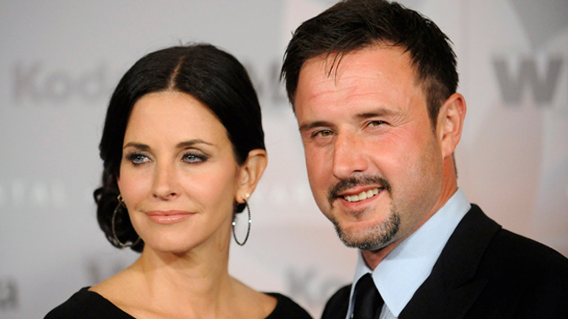 Courteney Cox and her estranged husband, David Arquette, who filed for divorce earlier this year.