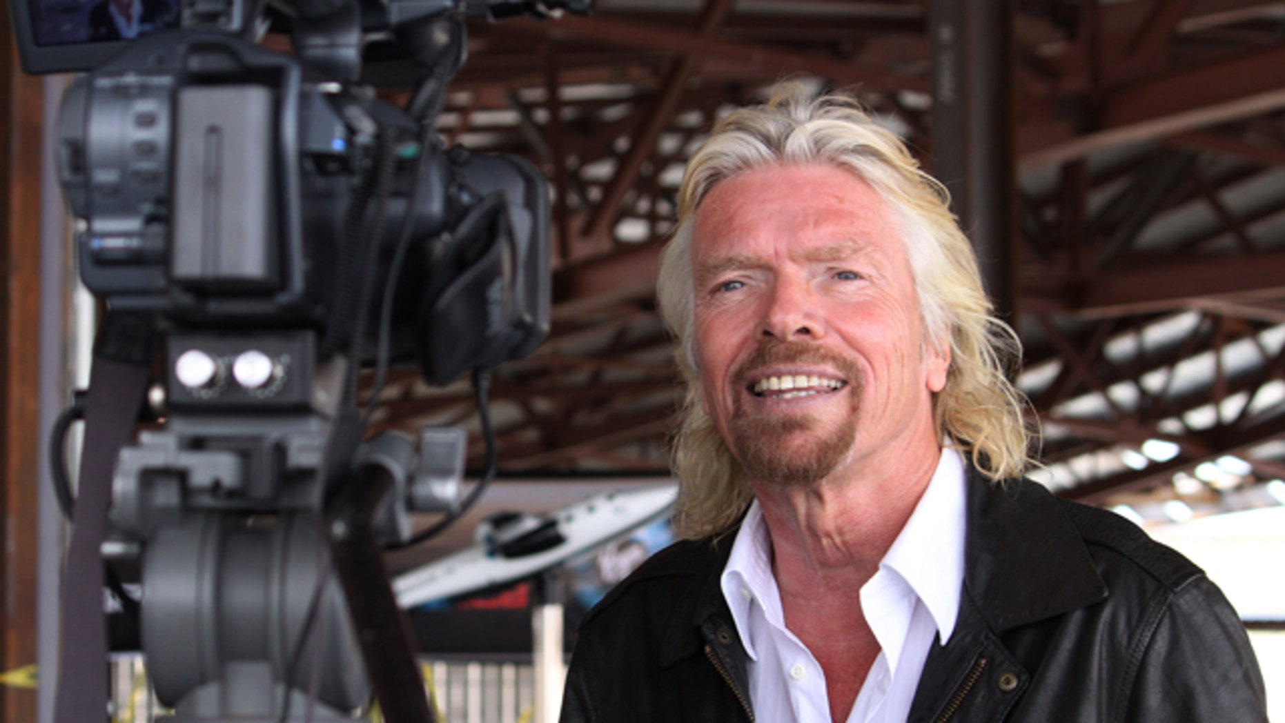 Virgin Galactic founder Richard Branson has vowed to be one of the first passengers when Virgin Galactic begins commercial space tourism flights from the spaceport.