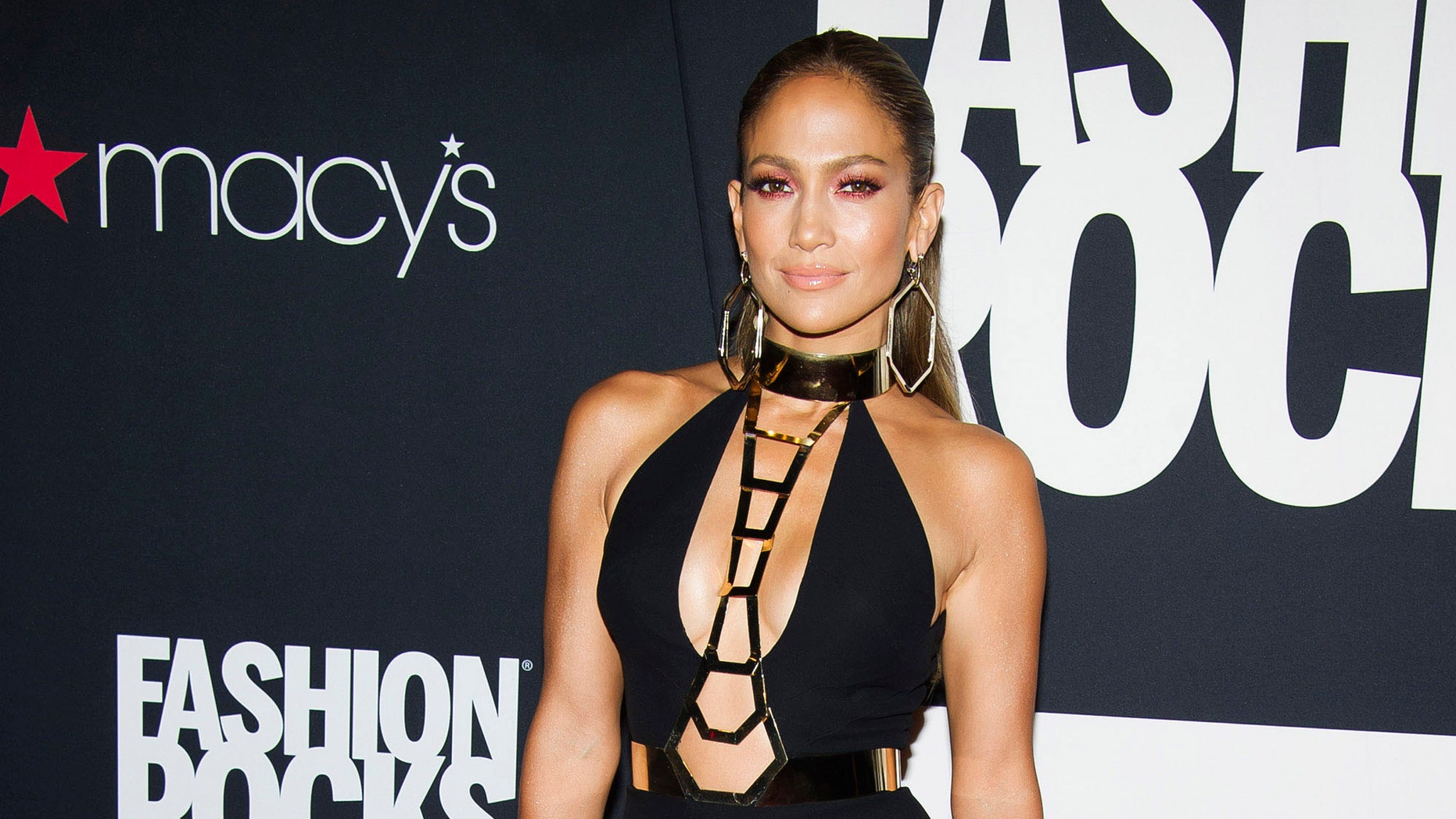 Jennifer Lopez attends Fashion Rocks on Tuesday, Sept. 9, 2014 at the Barclays Center in the Brooklyn borough of New York. (Photo by Charles Sykes/Invision/AP). (Photo by Charles Sykes/Invision/AP)