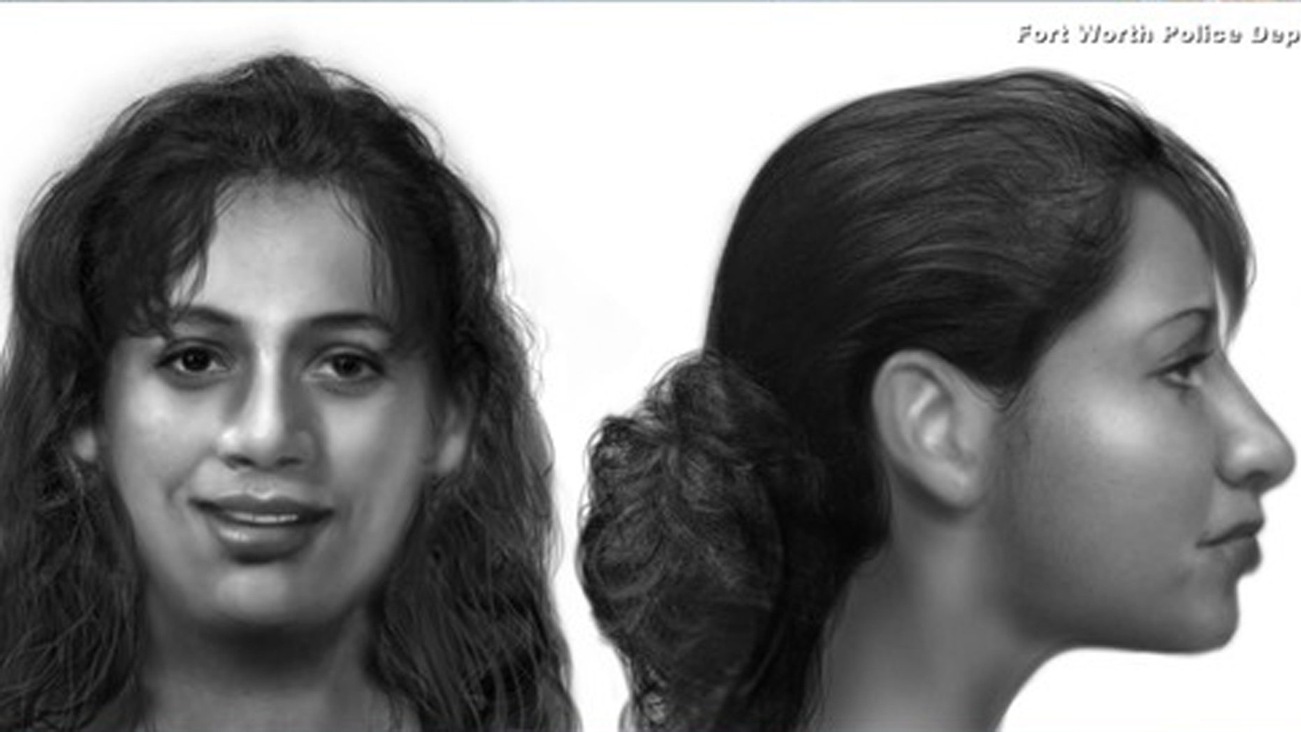 Police need help identifying a woman found inside a shallow grave in Fort Worth, Texas.