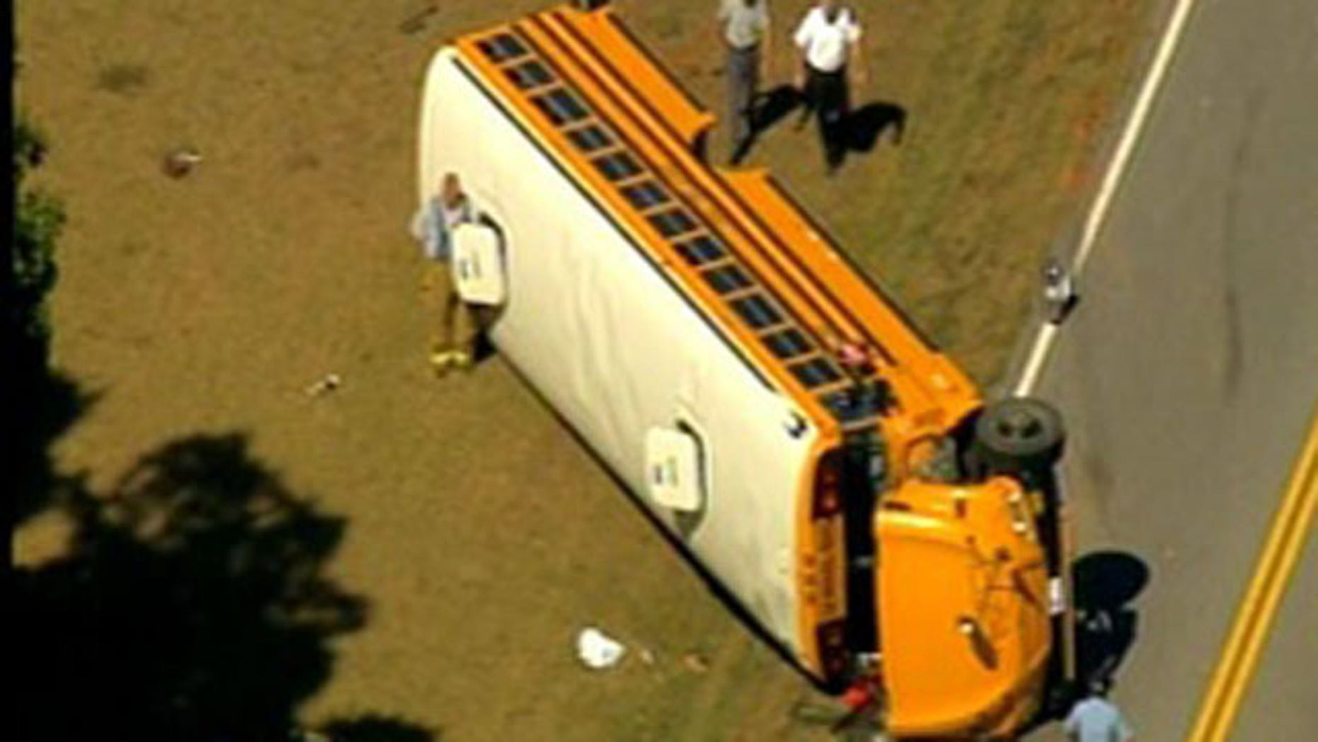 Oct. 4: A school bus accident in Georgia leaves one person dead.
