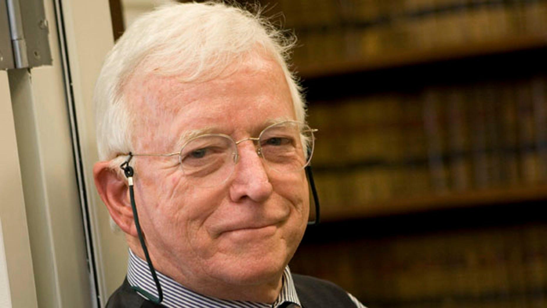 In this November 20, 2008 photo, Senior U.S. District Judge Jack T. Camp poses for a photo in Atlanta.