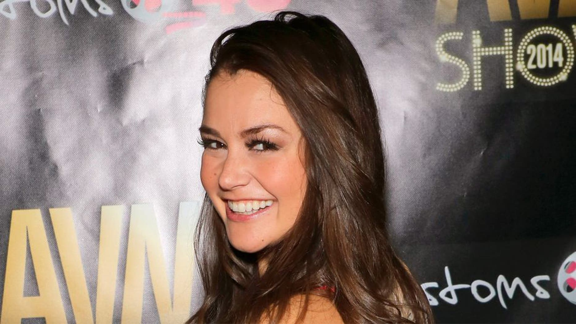 LAS VEGAS, NV - JANUARY 16: Adult film star Allie Haze attends the 2014 AVN Adult Entertainment Expo at the Hard Rock Hotel & Casino on January 16, 2014 in Las Vegas, Nevada. (Photo by Gabe Ginsberg/FilmMagic)