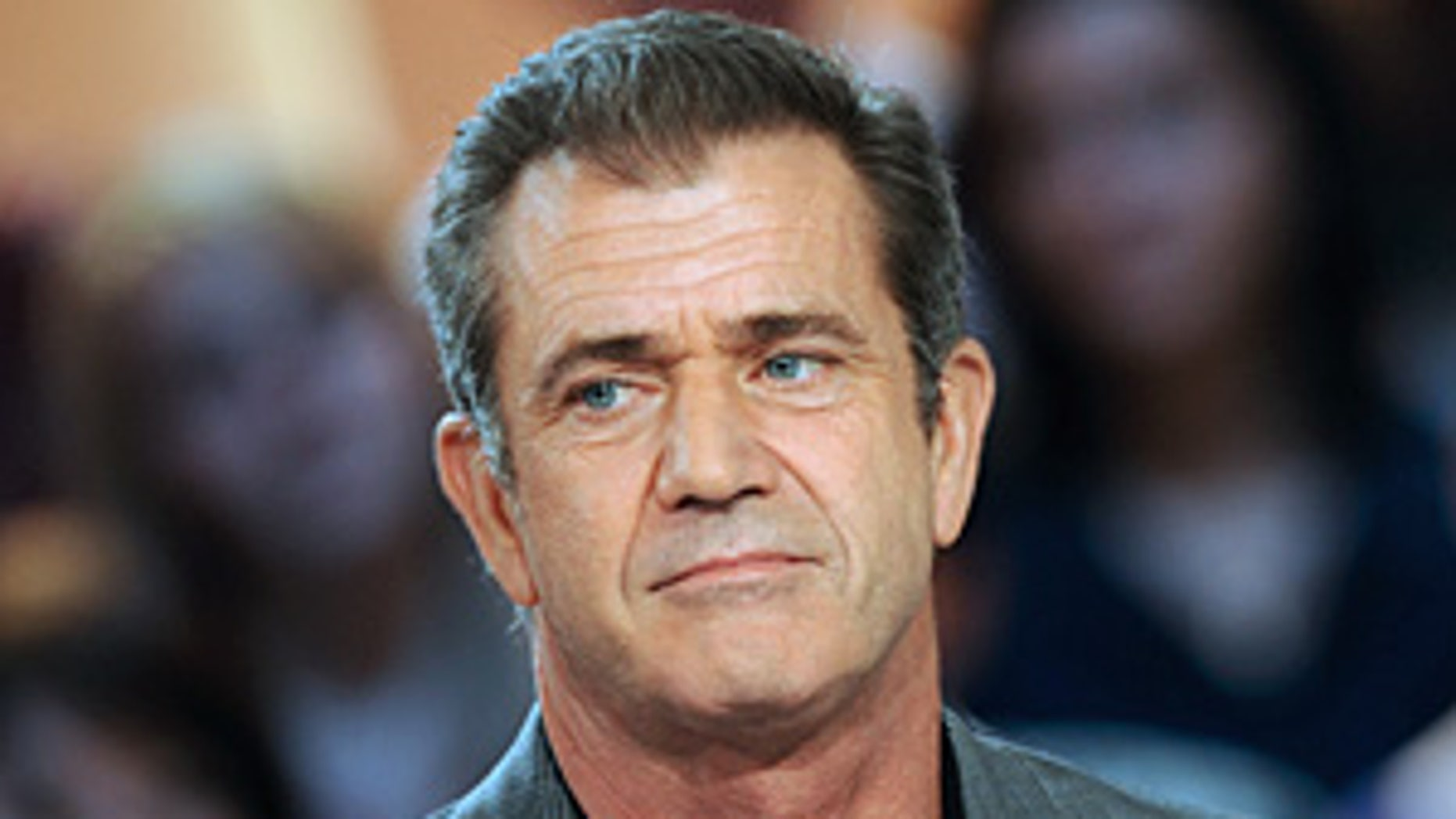 "US actor Mel Gibson attends the TV broadcast show ""Le Grand Journal"" on Canal + channel on February 3, 2010 in Paris. Gibson presented ""Hors de Controle"" (Out of Control) movie by Martin Campbell. AFP PHOTO BERTRAND LANGLOIS (Photo credit should read BERTRAND LANGLOIS/AFP/Getty Images)"