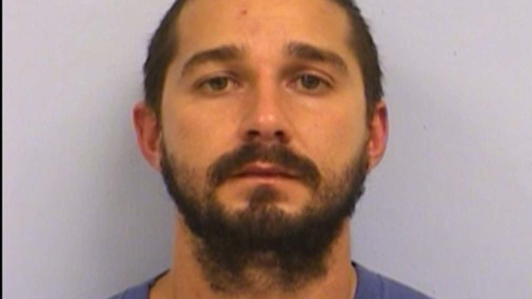 Oct. 9, 2015: Actor Shia LaBeouf was arrested by the Austin Police Department for public intoxication.