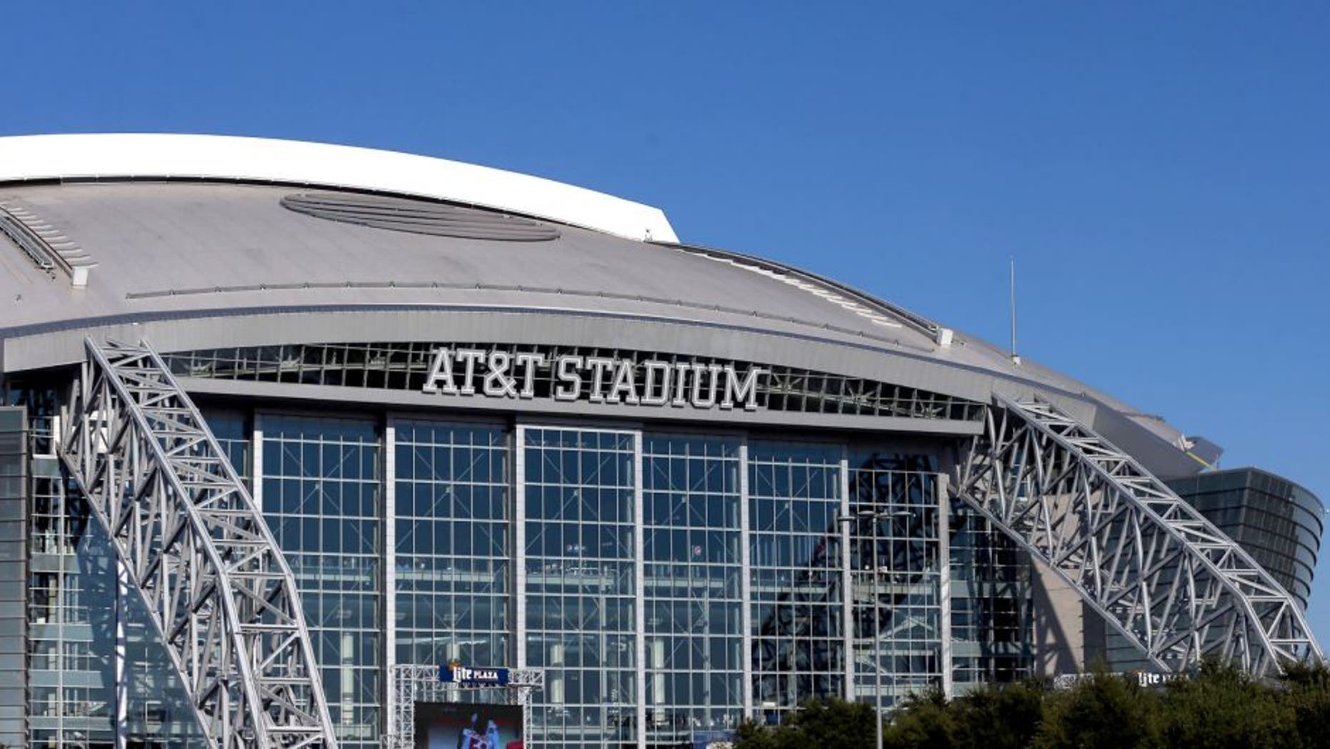 ARLINGTON, TX - SEPTEMBER 13: A general view of AT&T Stadium before a game between the New York Giants and the Dallas Cowboys on September 13, 2015 in Arlington, Texas. (Photo by Ronald Martinez/Getty Images)