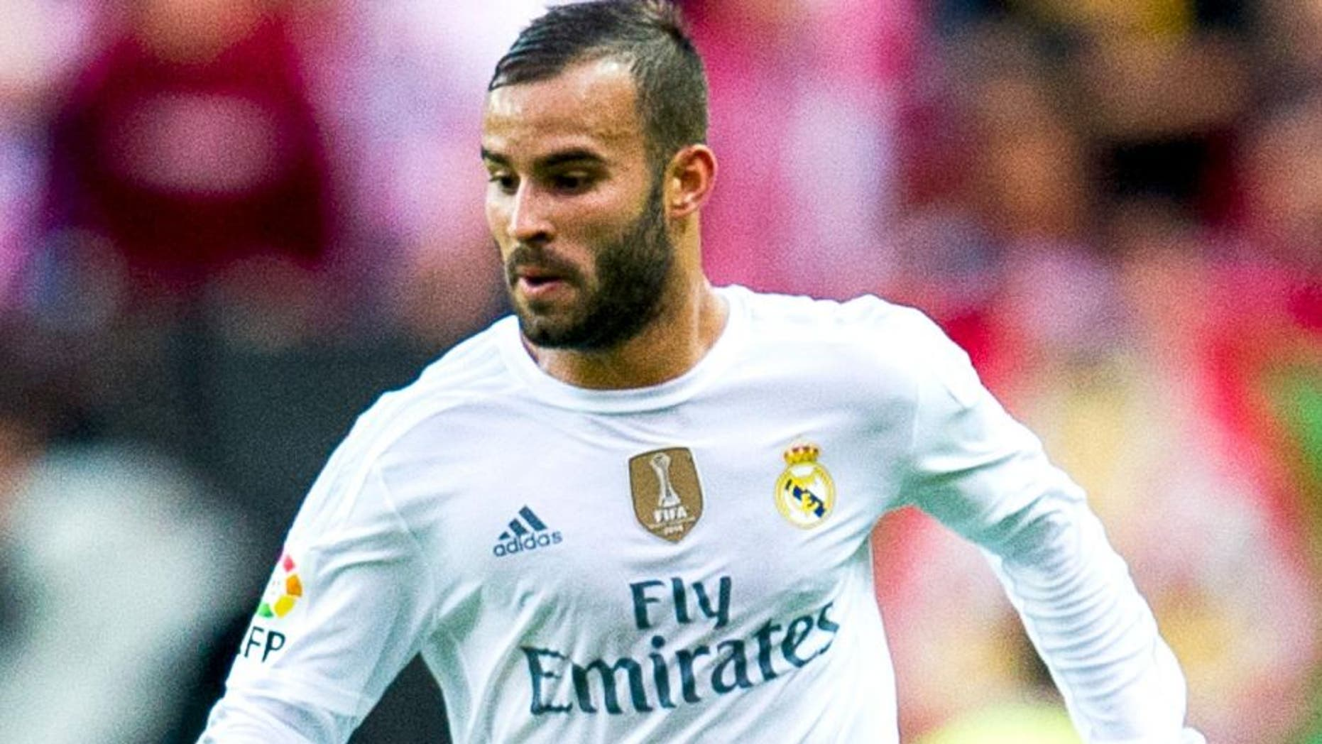 GIJON, SPAIN - AUGUST 23:Jese Rodriguez of Real Madrid controls the ball during the La Liga match between Sporting Gijon and Real Madrid at Estadio El Molinon on August 23, 2015 in Gijon, Spain. (Photo by Juan Manuel Serrano Arce/Getty Images)