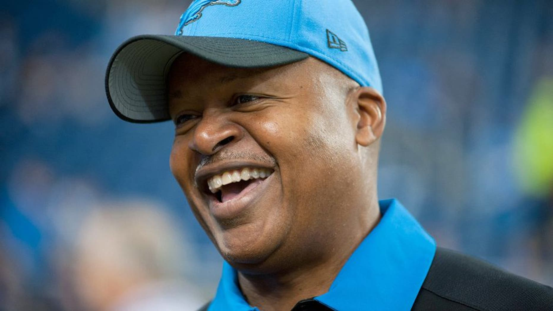 Oct 18, 2015; Detroit, MI, USA; Detroit Lions head coach Jim Caldwell before the game against the Chicago Bears at Ford Field. Mandatory Credit: Tim Fuller-USA TODAY Sports