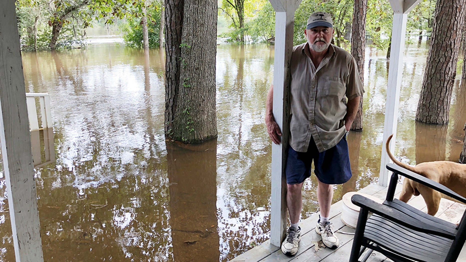 The church of Pastor Willie Lowrimore of The Fellowship With Jesus Ministries is on the bank of the Waccamaw River, which has already risen above its record crest and is expected to keep rising for several days, forcing thousands of evacuations in the aftermath of Hurricane Florence.