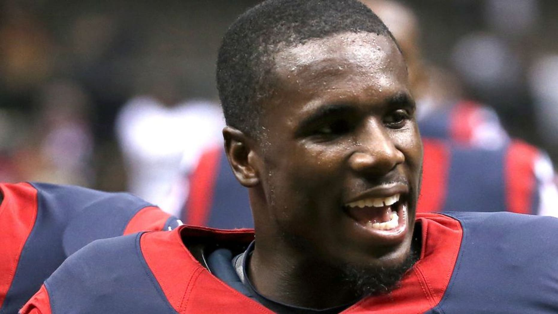 NEW ORLEANS, LA - AUGUST 30: Charles James #31 of the Houston Texans at the Mercedes-Benz Superdome on August 30, 2015 in New Orleans, Louisiana. (Photo by Chris Graythen/Getty Images)