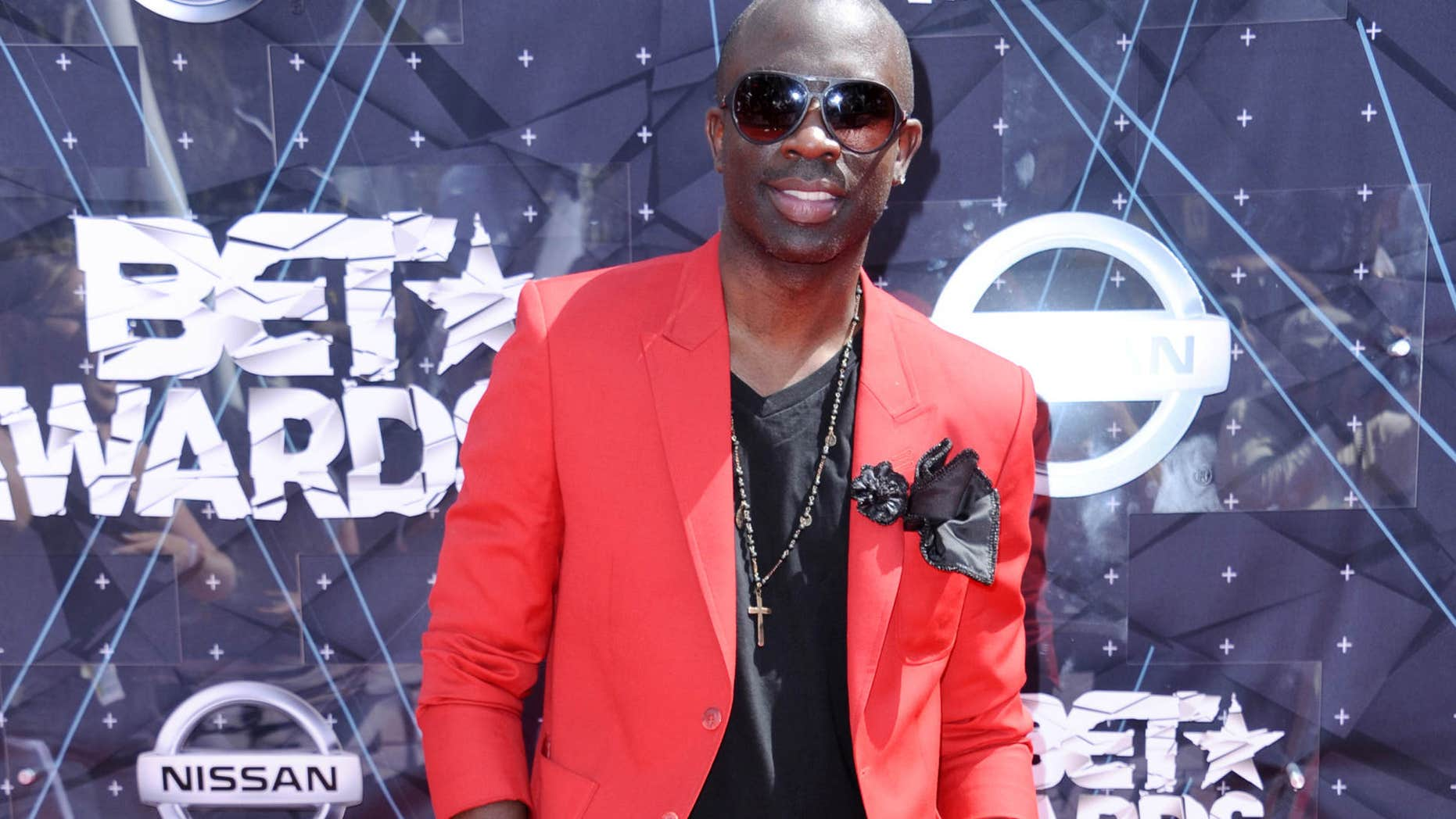 FILE - In this June 28, 2015 file photo, Sam Sarpong arrives at the BET Awards at the Microsoft Theater, in Los Angeles.