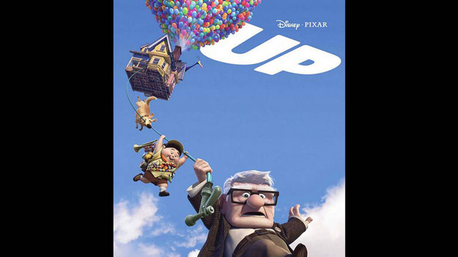 """The Pixar movie """"Up"""" served as his inspiration."""
