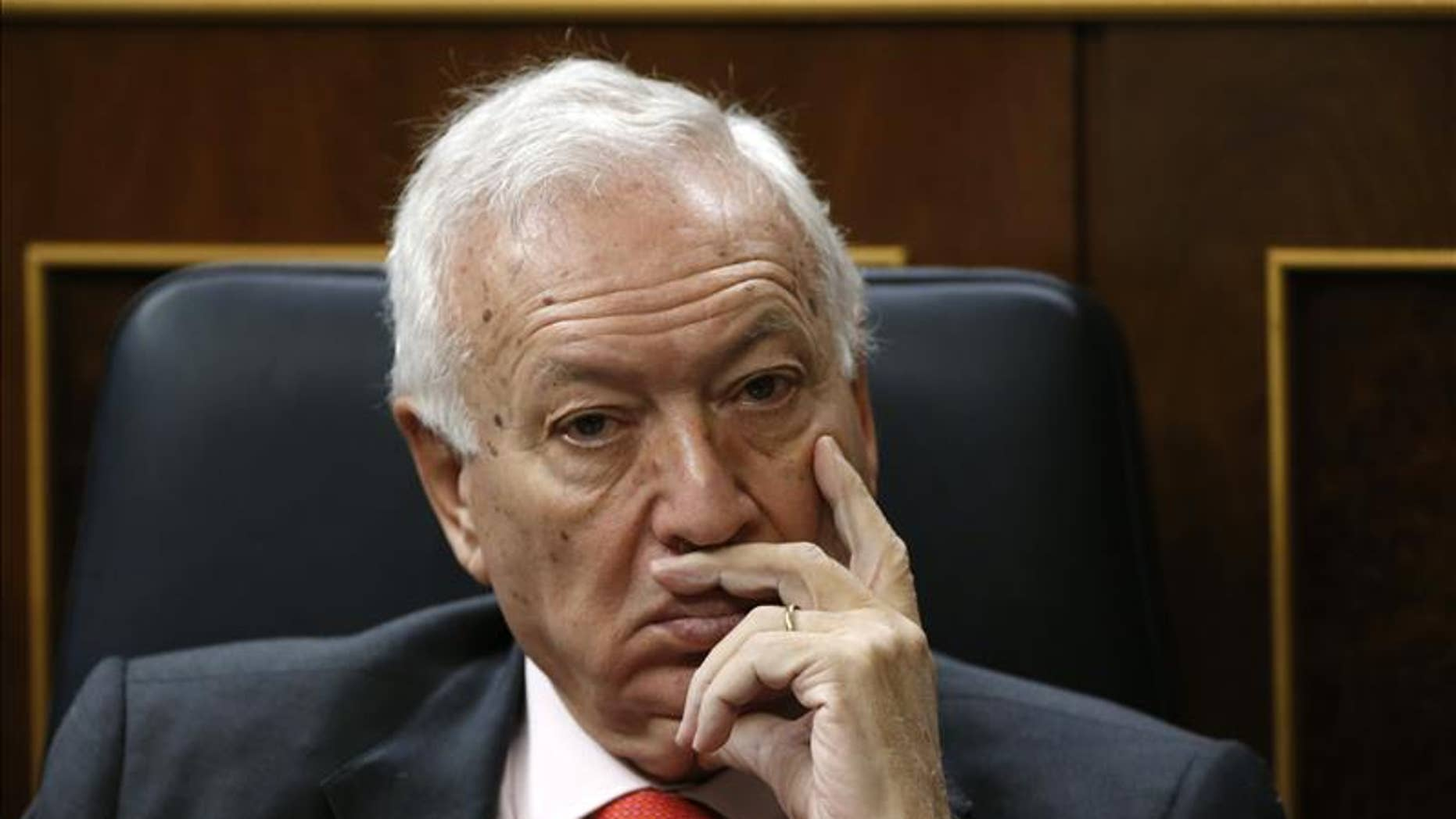 Foreign Minister Jose Manuel Garcia Margallo said the government has been in talks with the U.S. in the hope of getting Cuba to extradite Jose Angel Urtiaga and Jose Ignacio Etxarte to Spain.