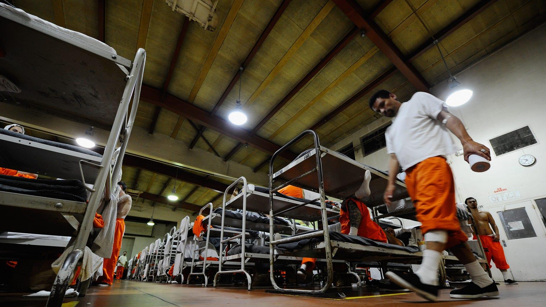 Chino State Prison, in Chino, California.