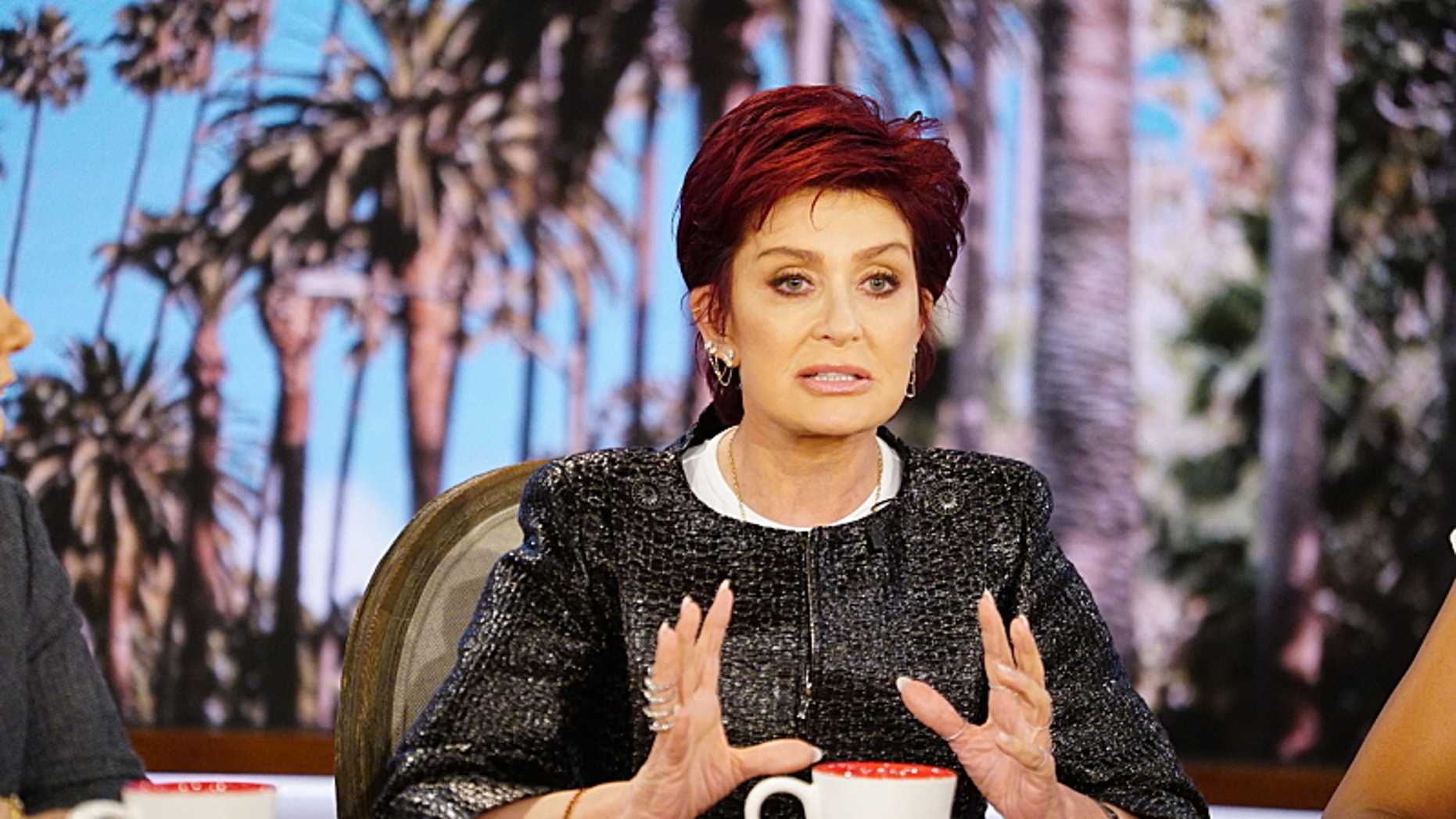 """Season 7 premieres with """"The 7 Wonders of THE TALK""""! Hosts reveal answers to the biggest questions viewers have """"wondered"""" about, kicking off with Sharon Osbourne, Monday, September 12, 2016 on the CBS Television Network. Sharon Osbourne, shown. Photo: Sonja Flemming/CBS ©2016 CBS Broadcasting, Inc. All Rights Reserved"""