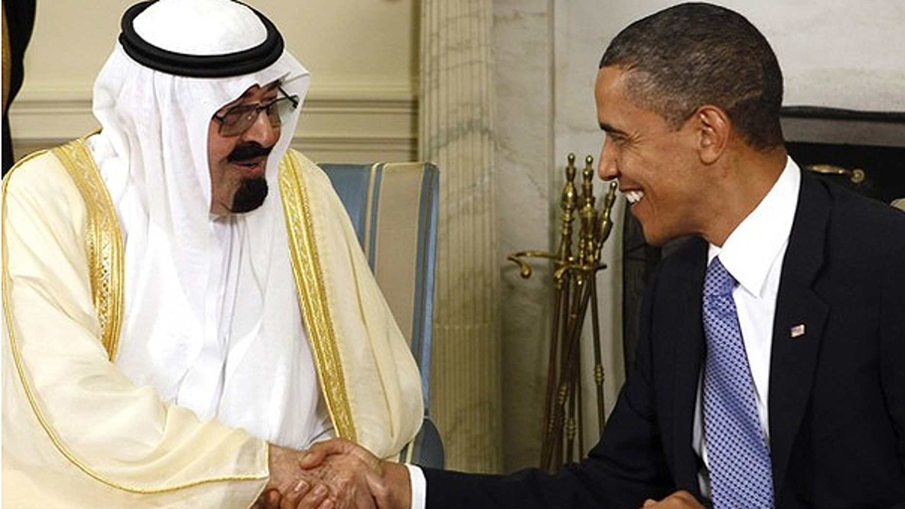 June 29, 2010: President Obama meets with King Abdullah of Saudi Arabia in the Oval Office.